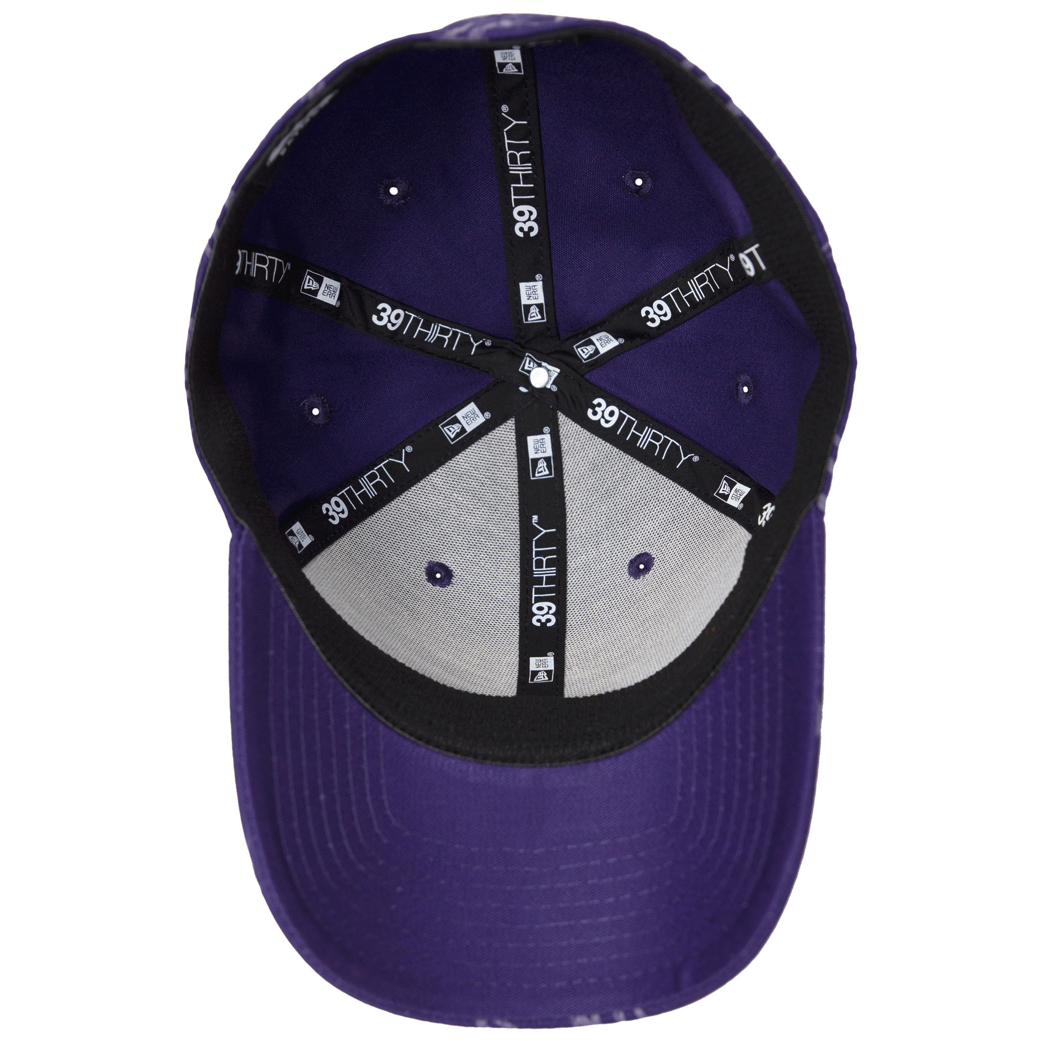 Joker Purple All Over HAHA 39Thirty Fitted New Era Hat