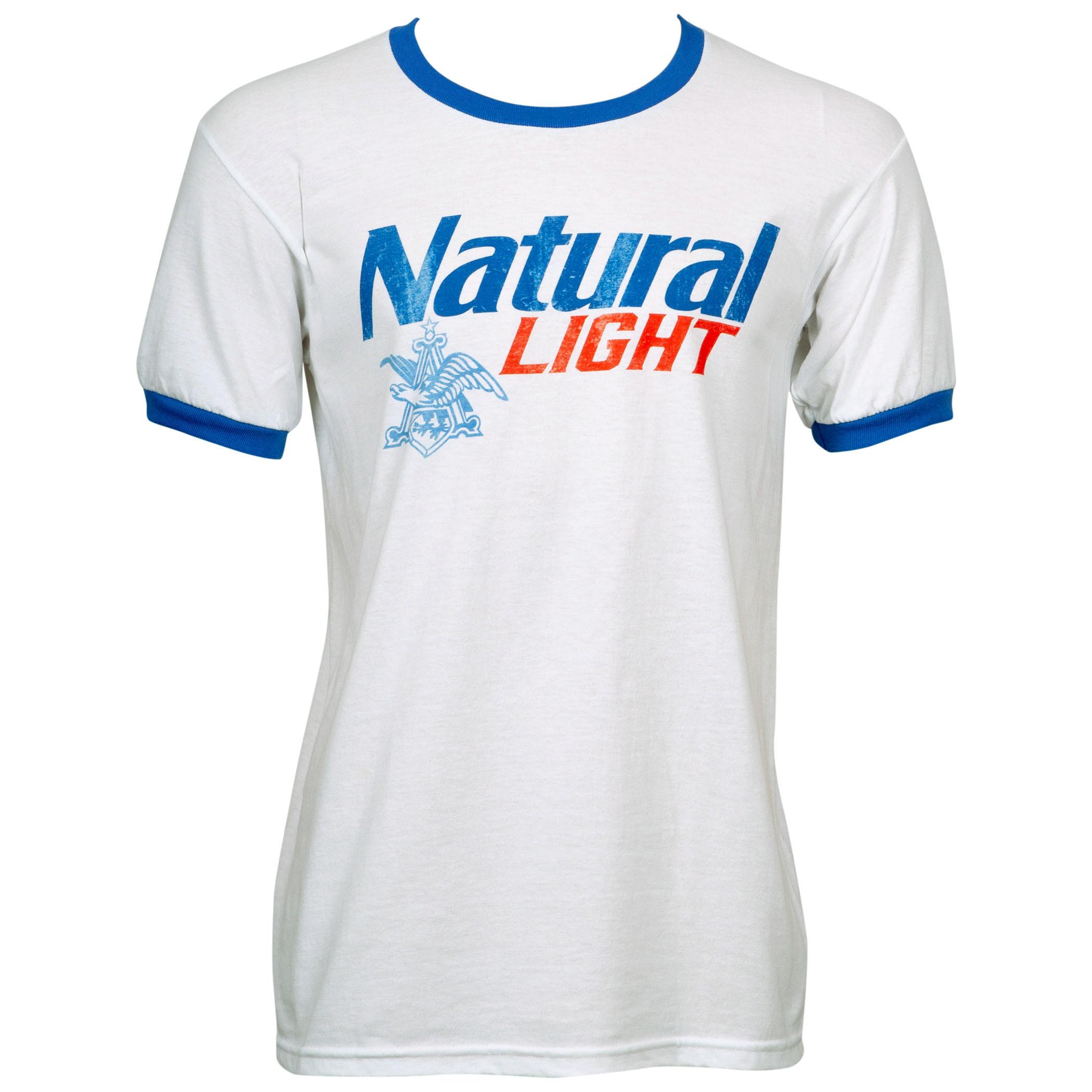 Natural Light Ringer T-Shirt