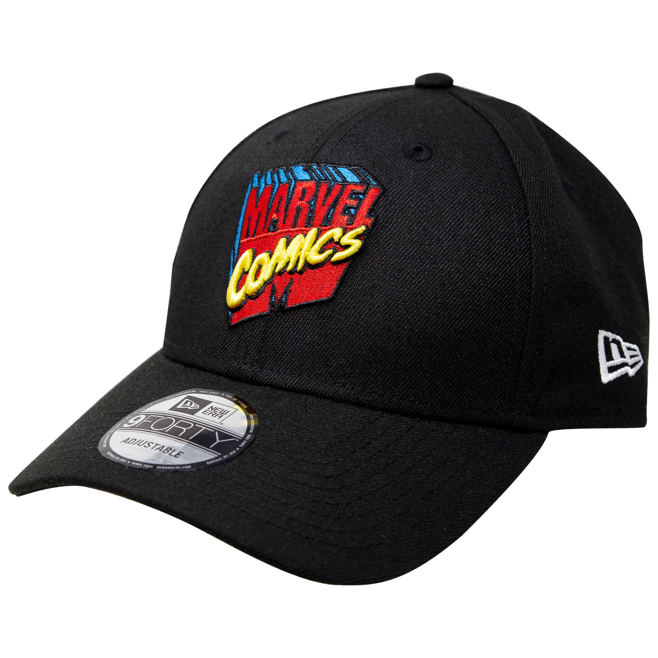 Marvel 80th Logo New Era 9Forty Adjustable Hat