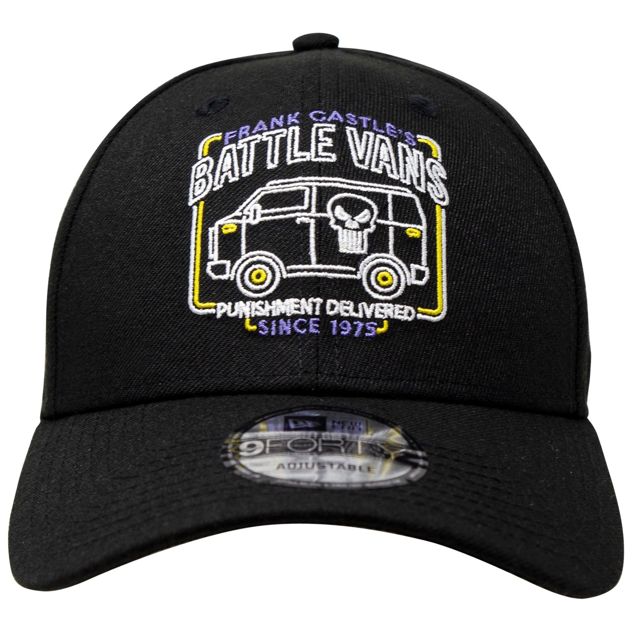 The Punisher Battle Van Marvel 80th New Era 9Forty Adjustable Hat