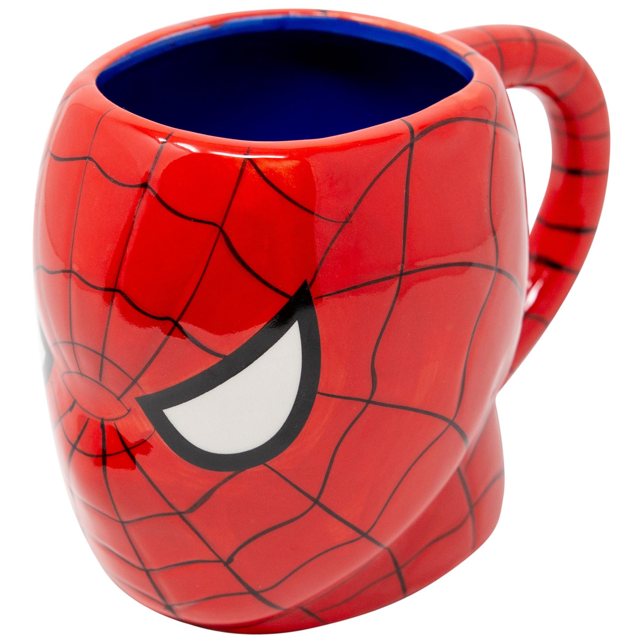 Spider-Man Face 3D Mug
