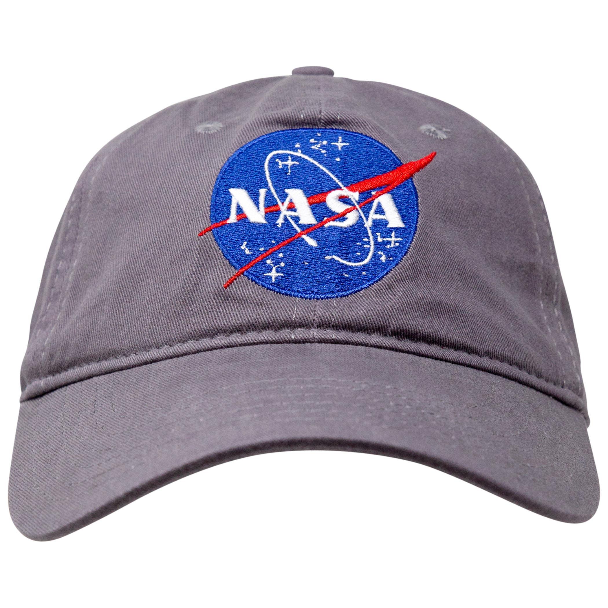 NASA Logo Grey Hat