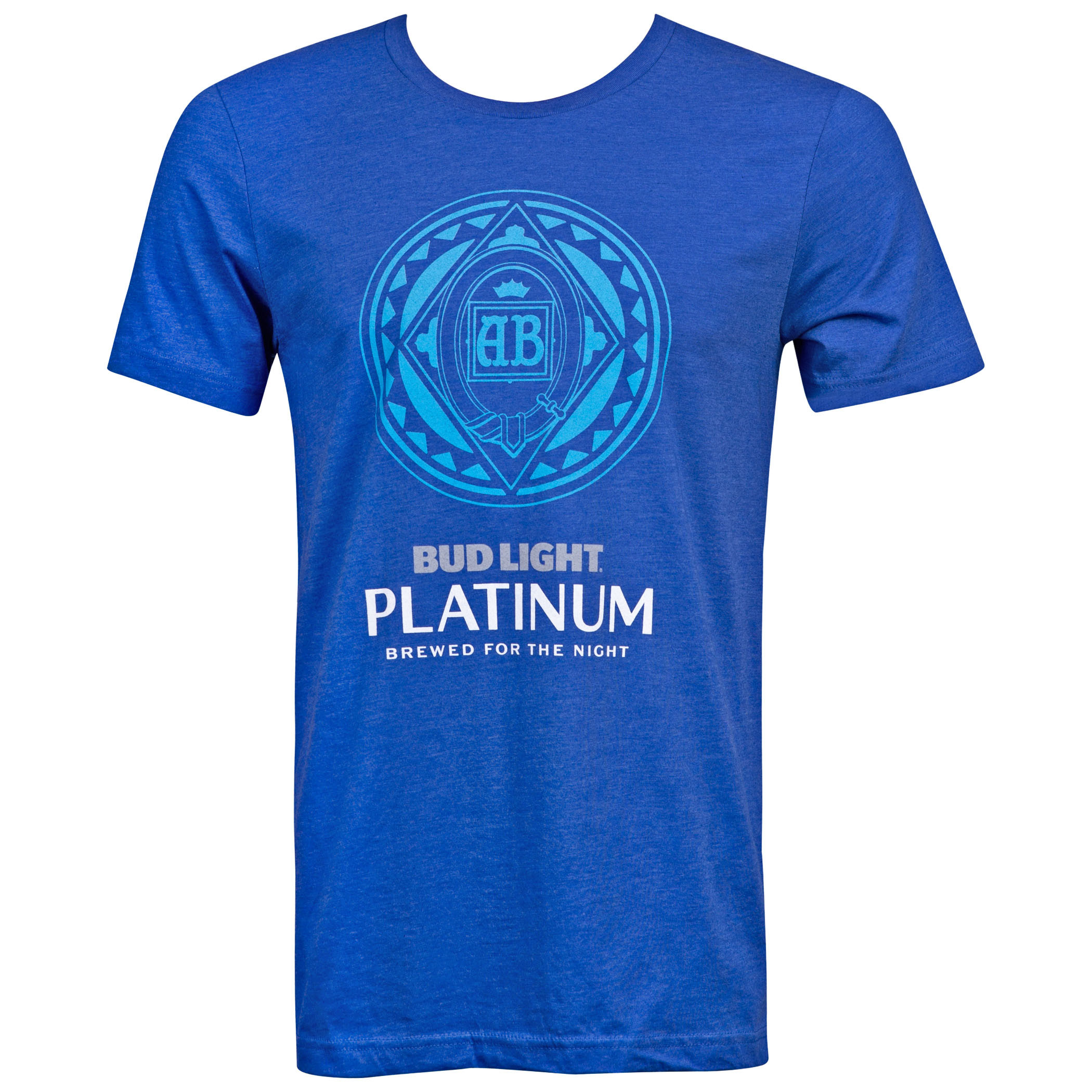 Bud Light Platinum Men's Blue T-Shirt