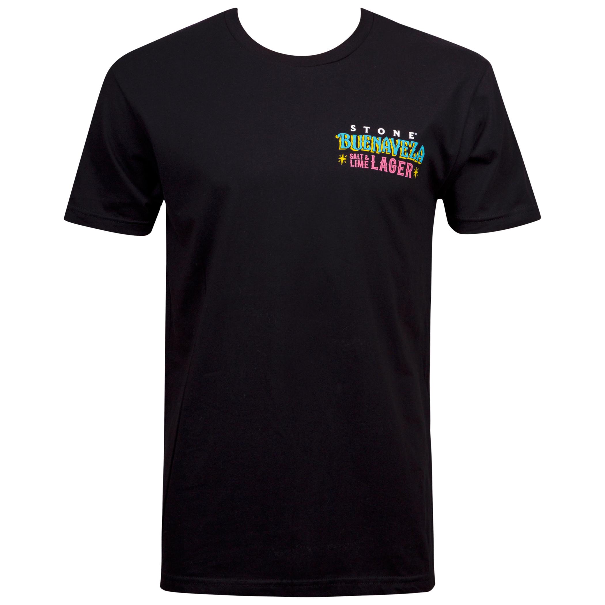 Stone Brewing Men's Black Buenaveza T-Shirt