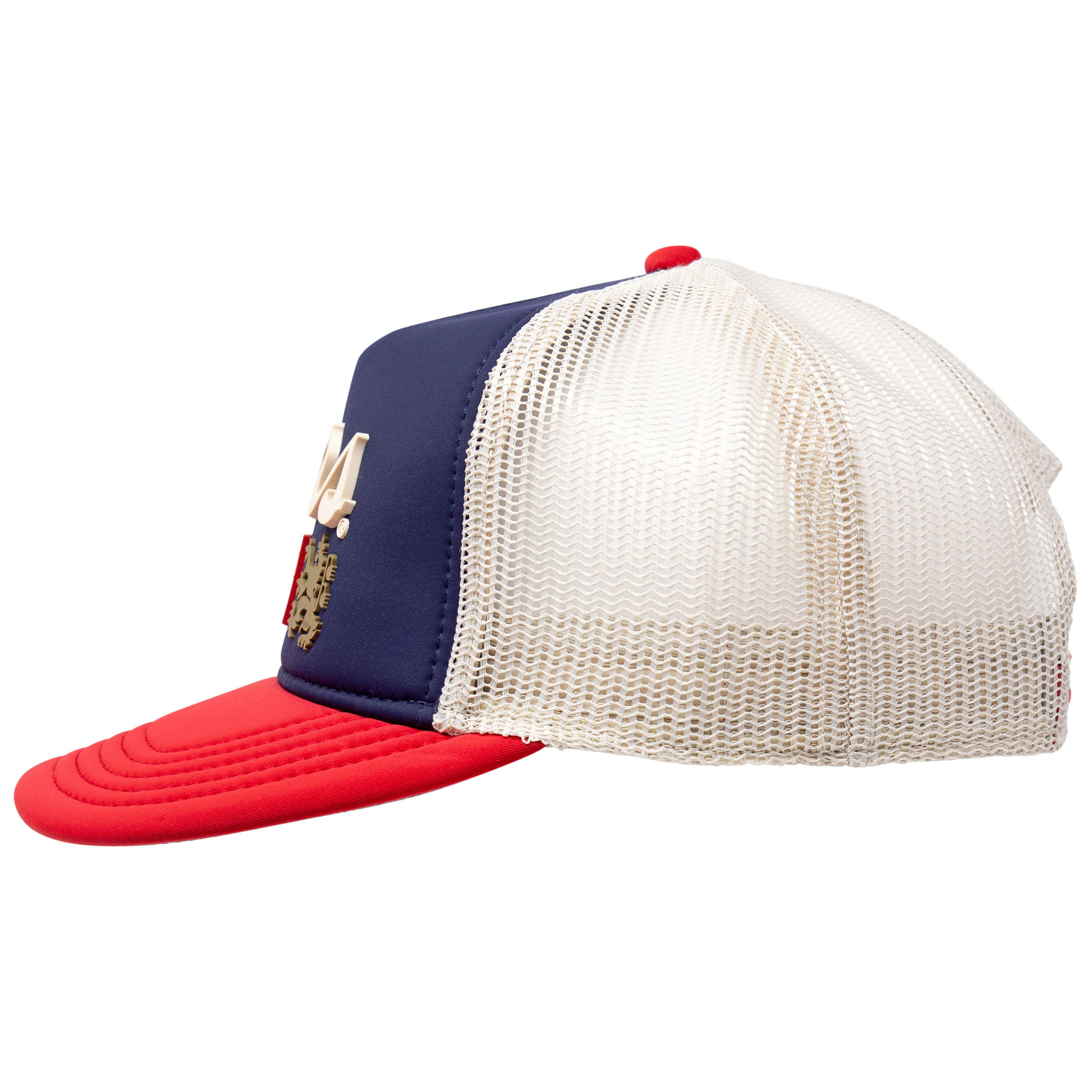 Coors Banquet Red White and Blue Vintage Hat Blue