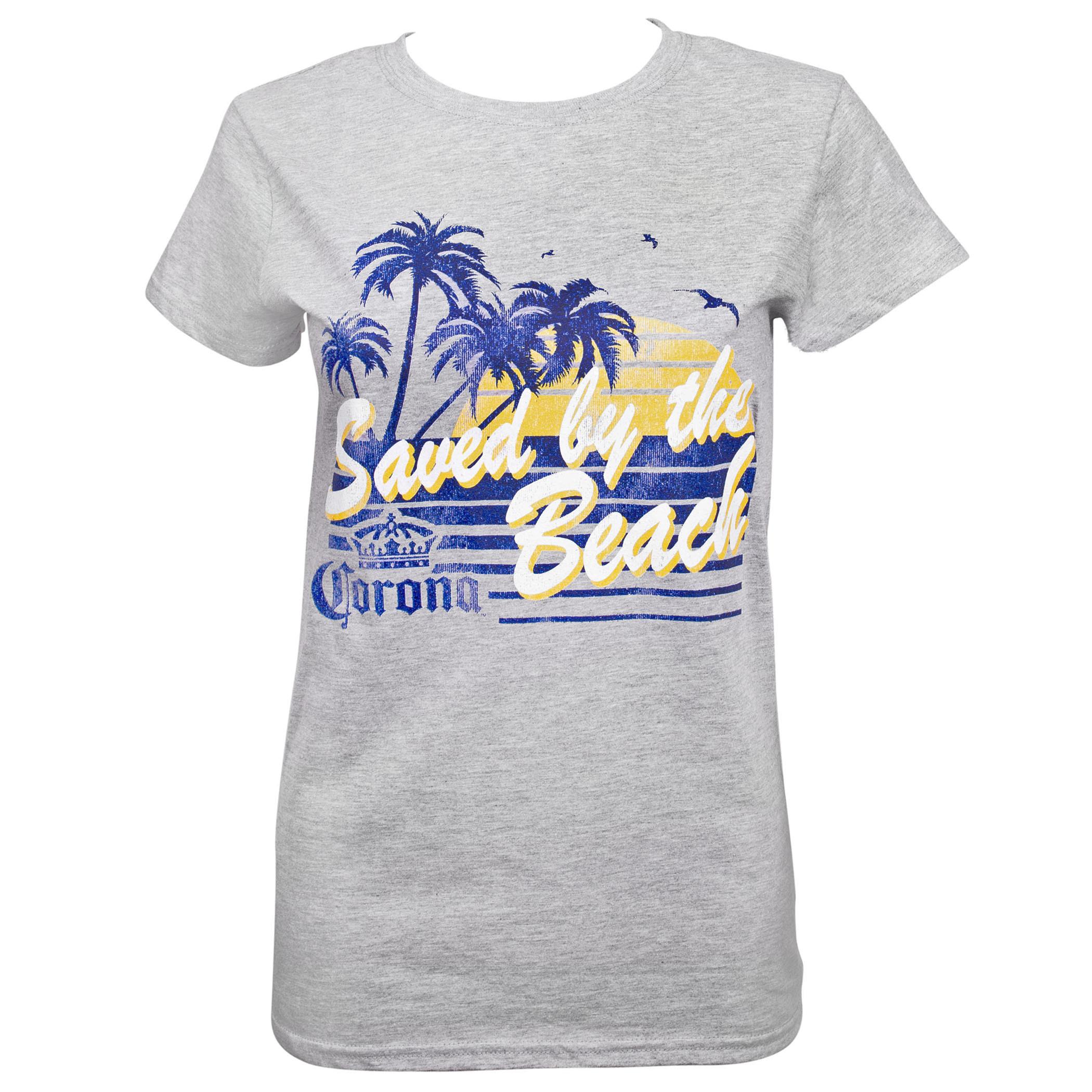 Corona Saved by the Beach Women's T-Shirt