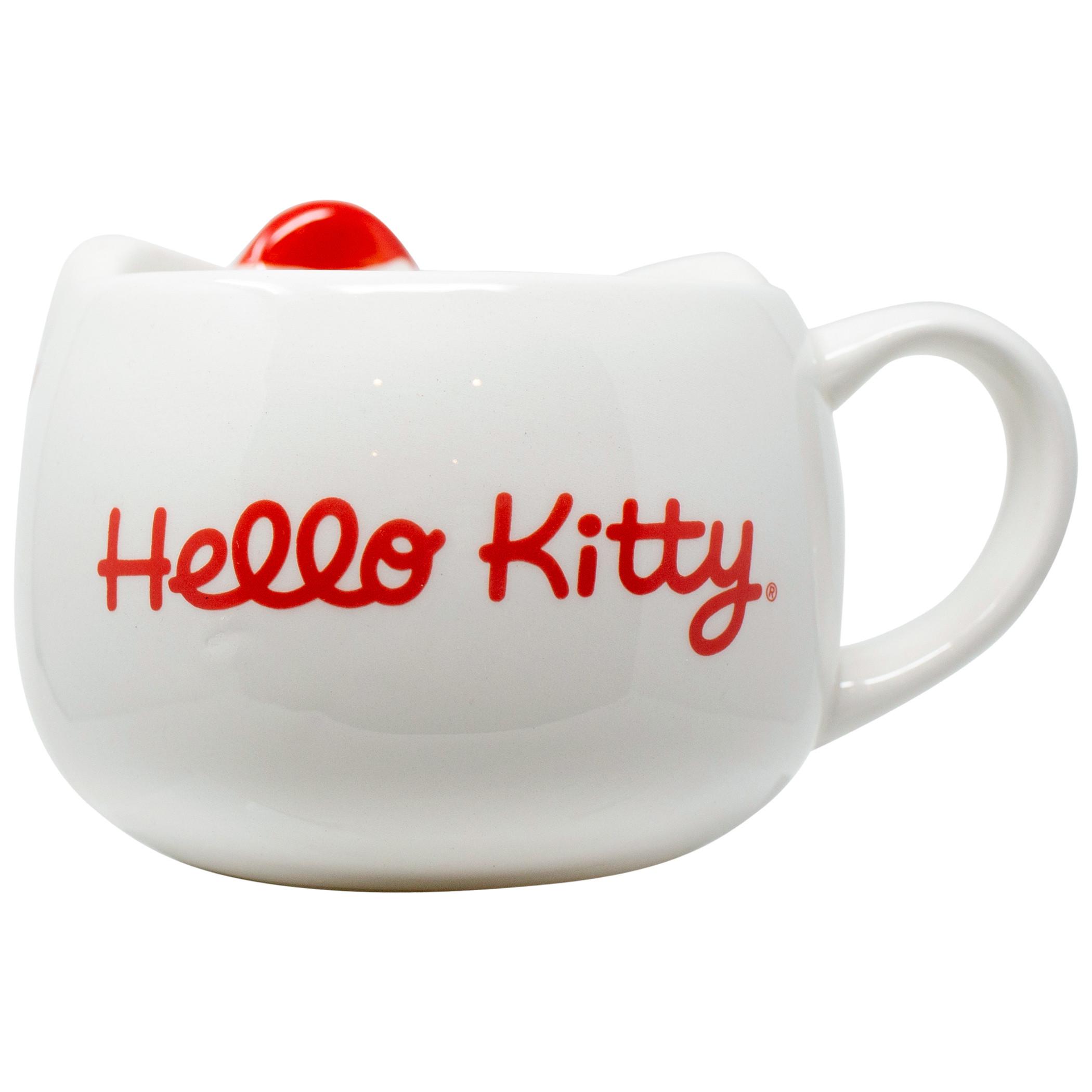 Hello Kitty 3D Sculpted Ceramic Mug