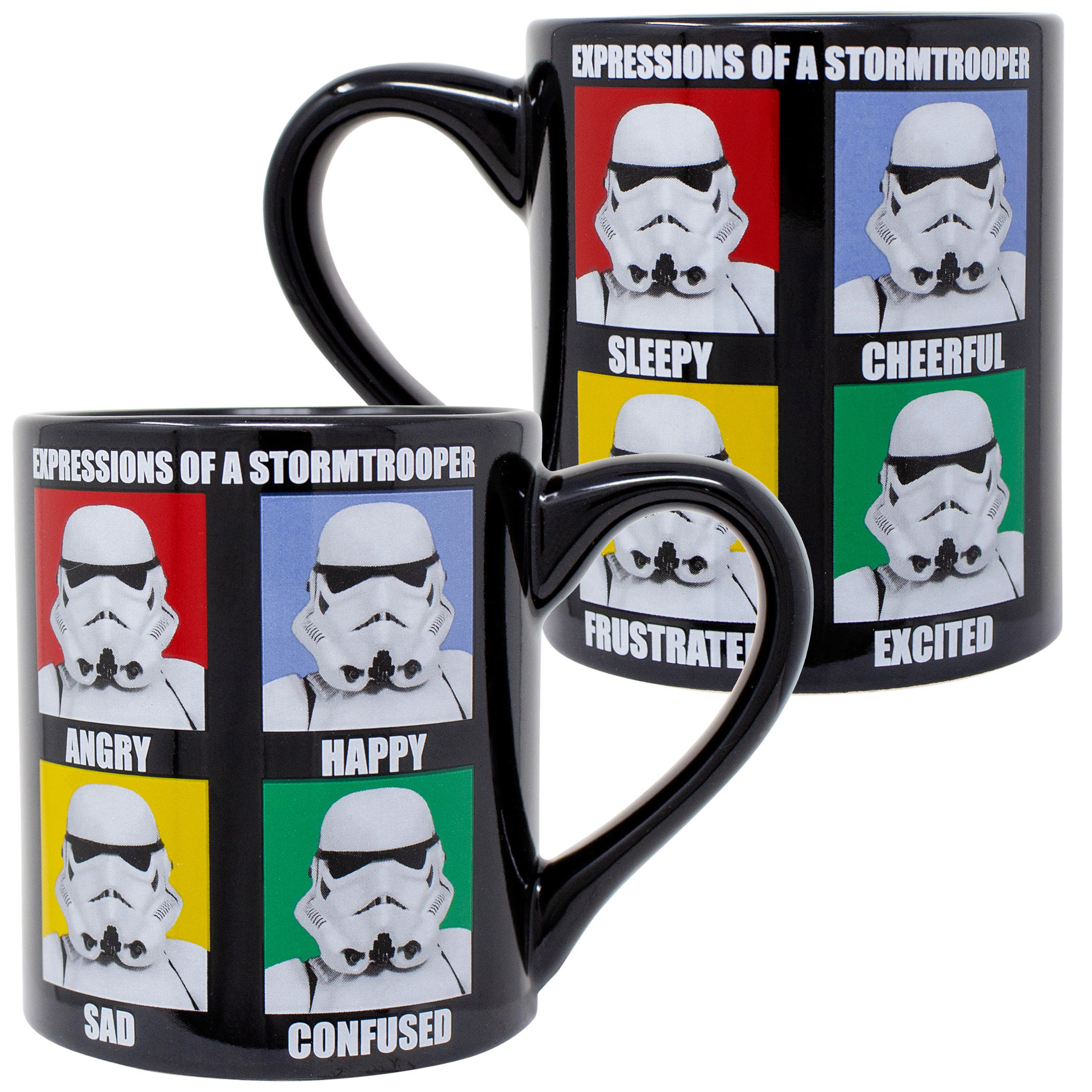 Star Wars Expressions of Stormtroopers 20 Oz Mug