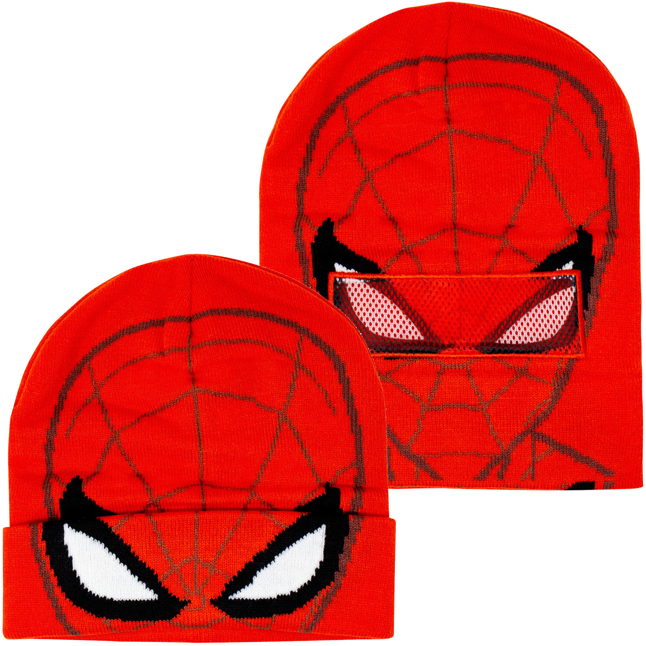 Spider-Man Flip-Down Costume Mask Beanie