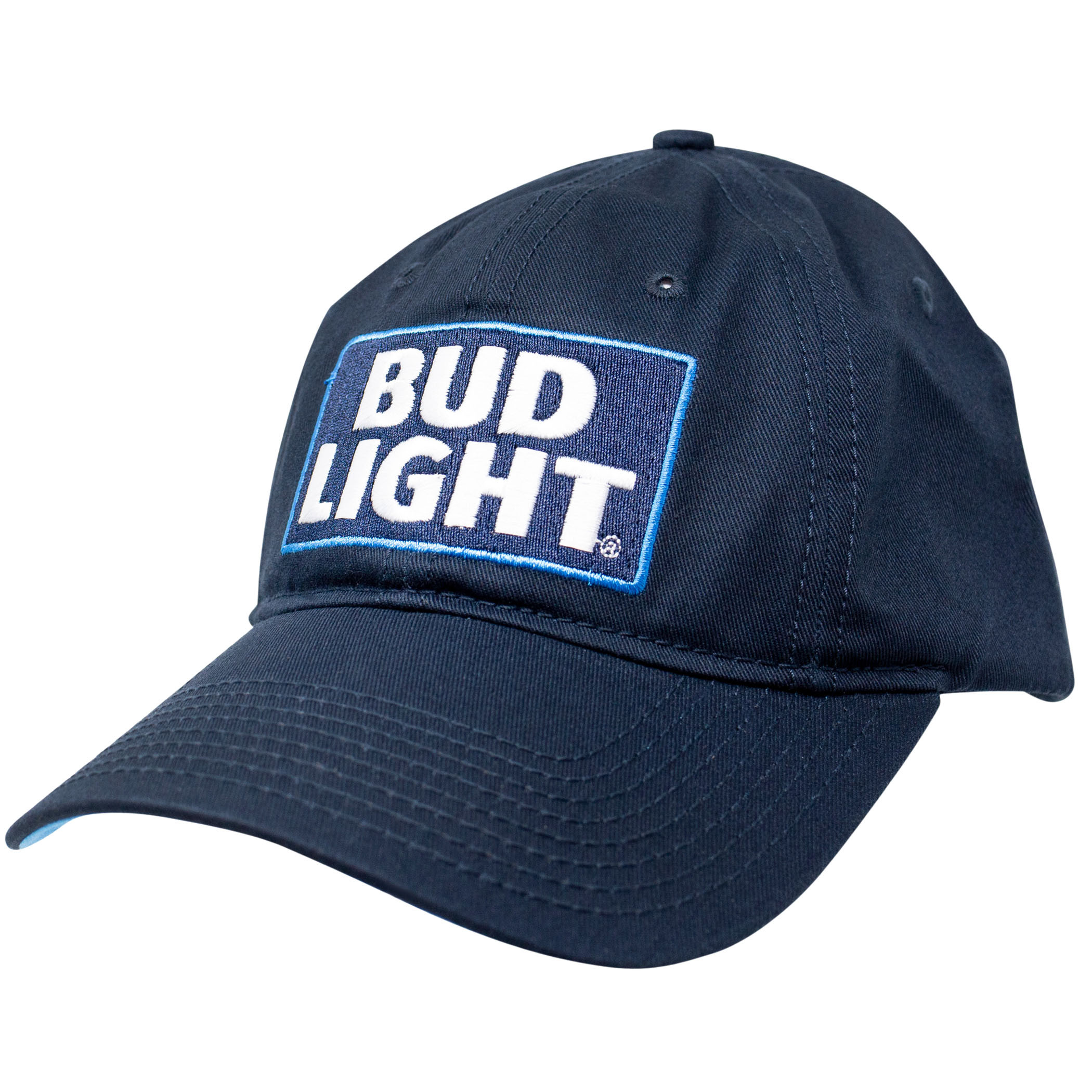 Bud Light Beer Logo Blue Adjustable Hat