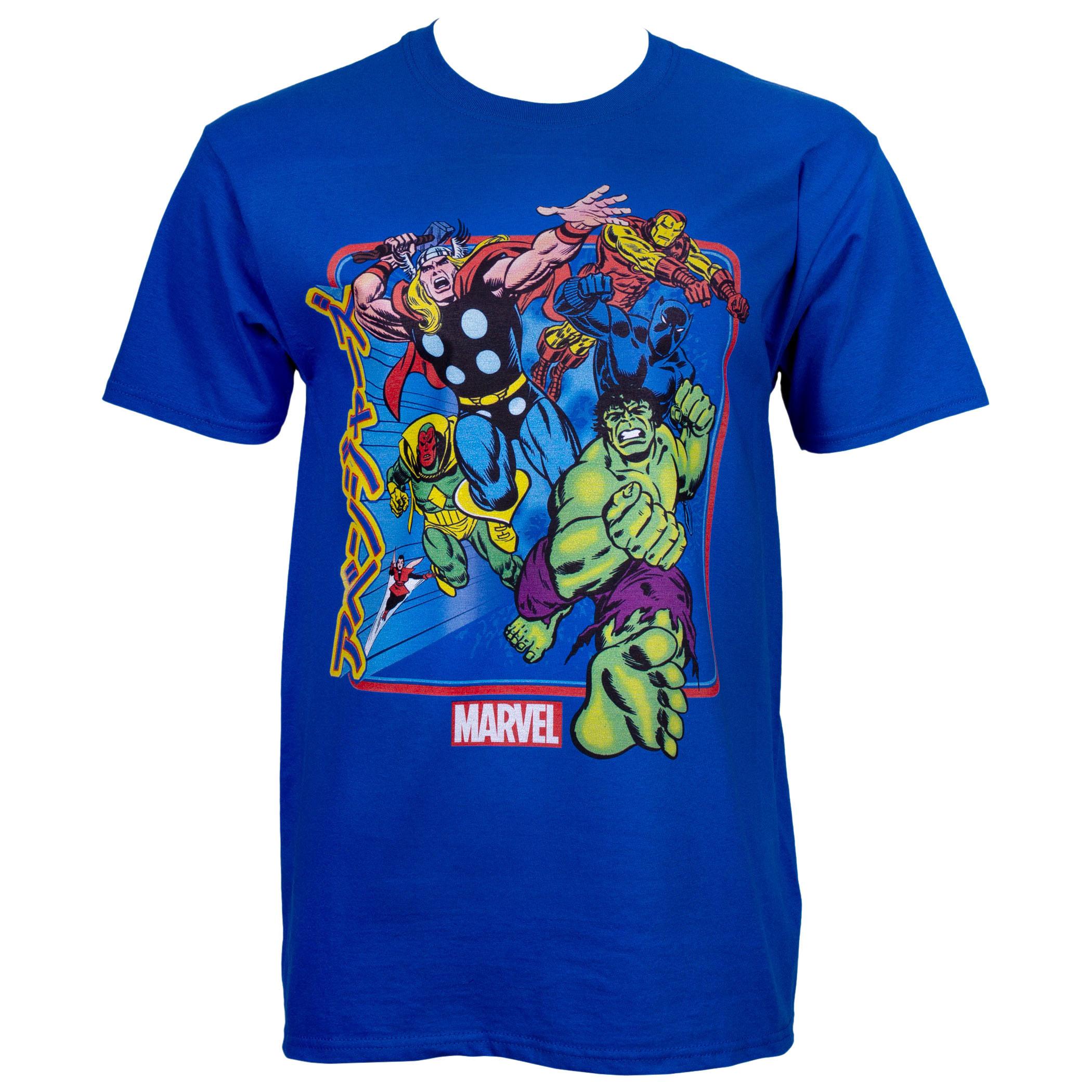 Marvel Avengers Kanji T-Shirt
