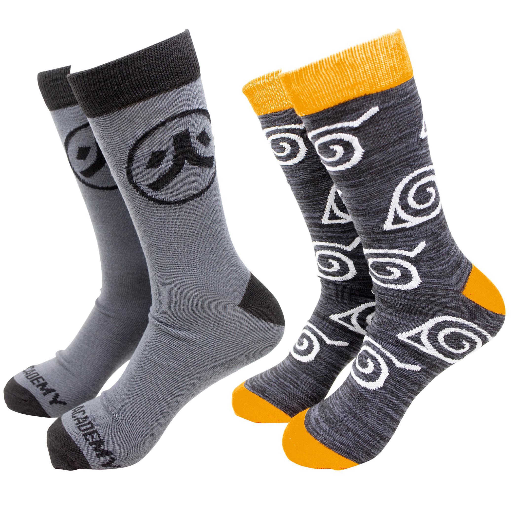 Naruto 2-Pack Crew Socks