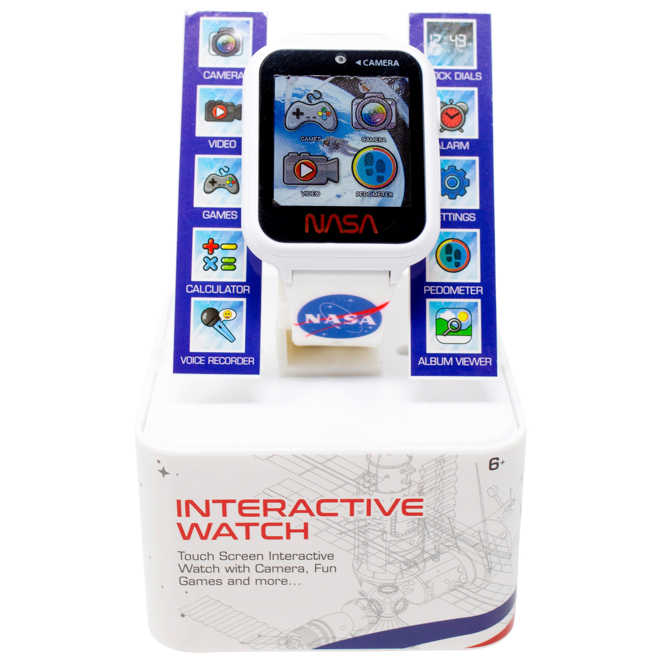 NASA Accutime Interactive Kids Watch