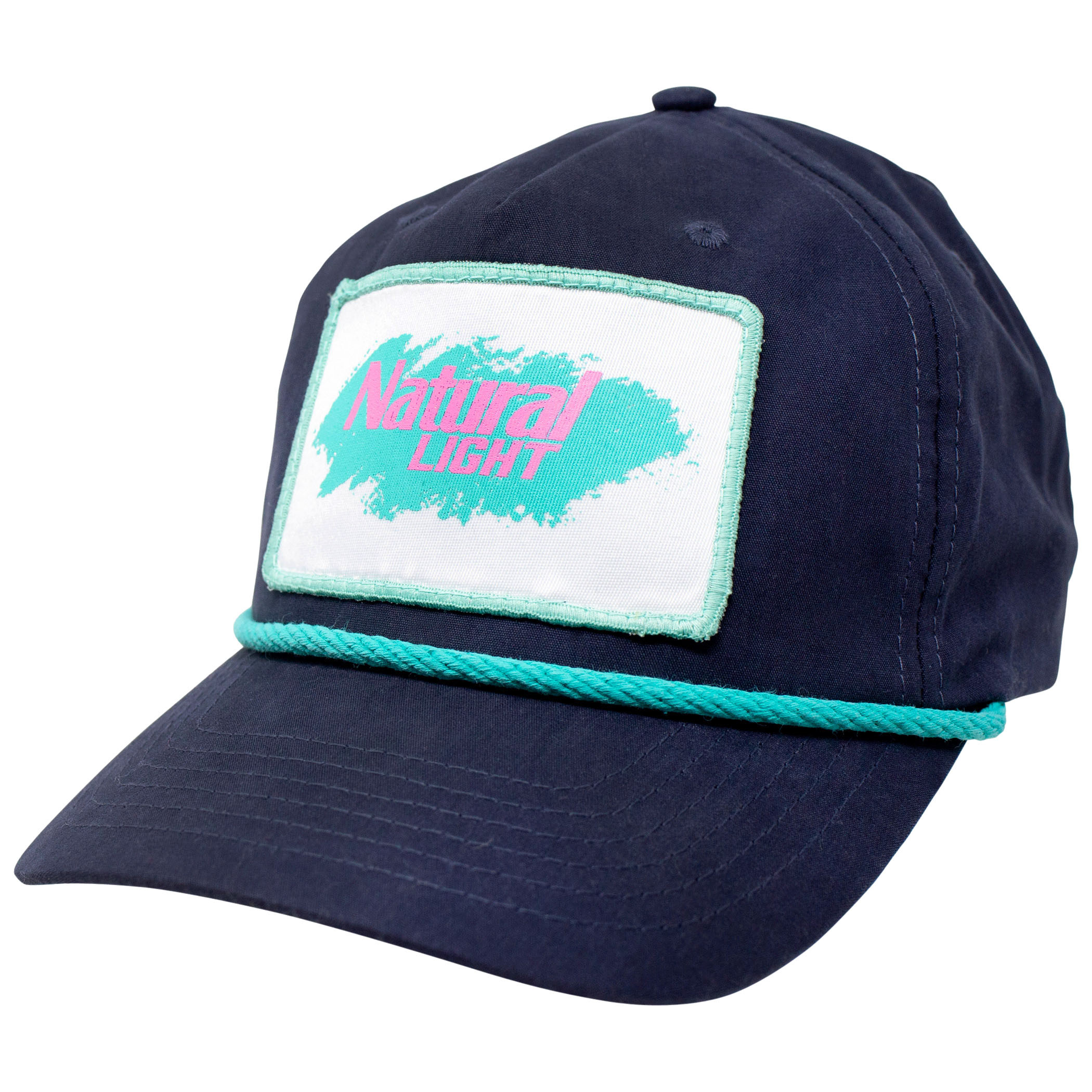 Natural Light Vintage Patch Hat