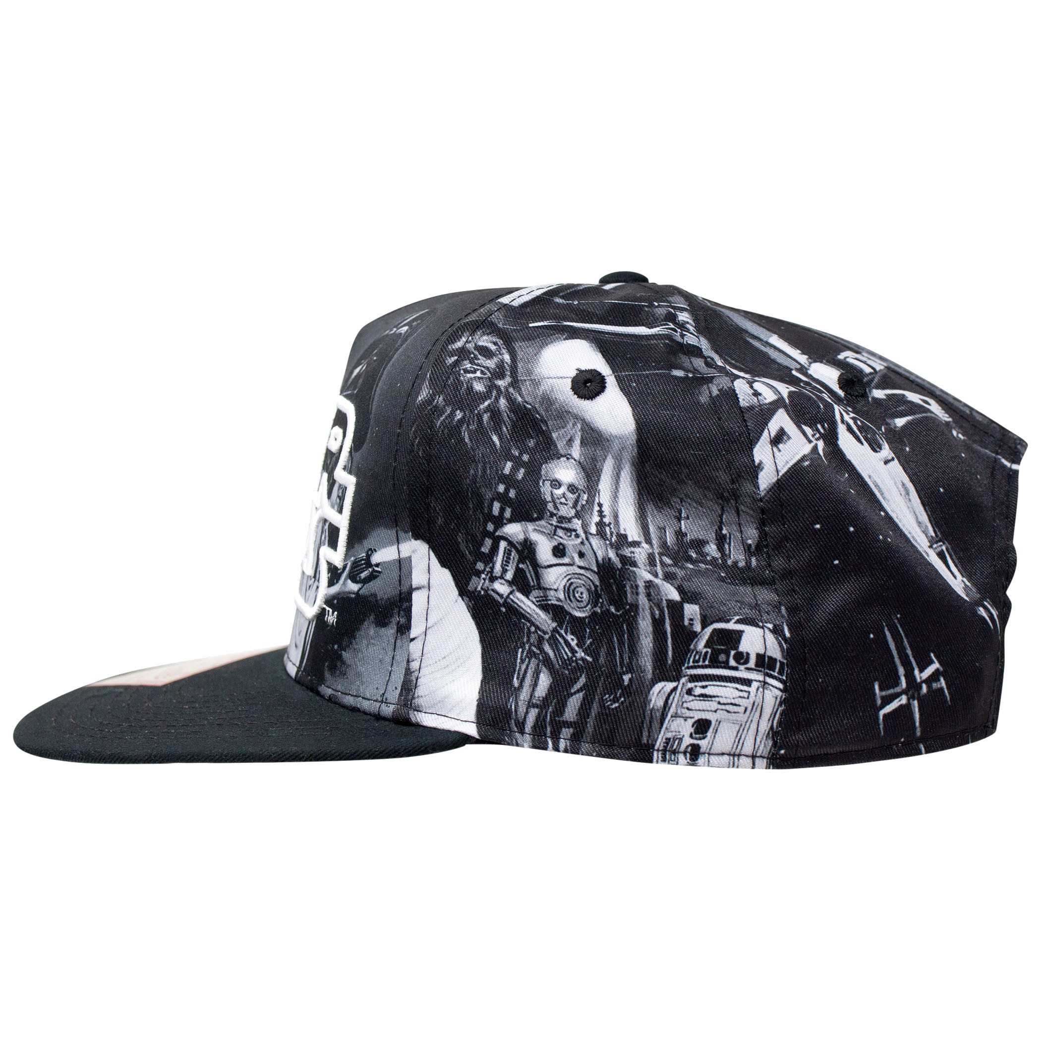 Star Wars Classic Sublimated Hat with Embroidered Text