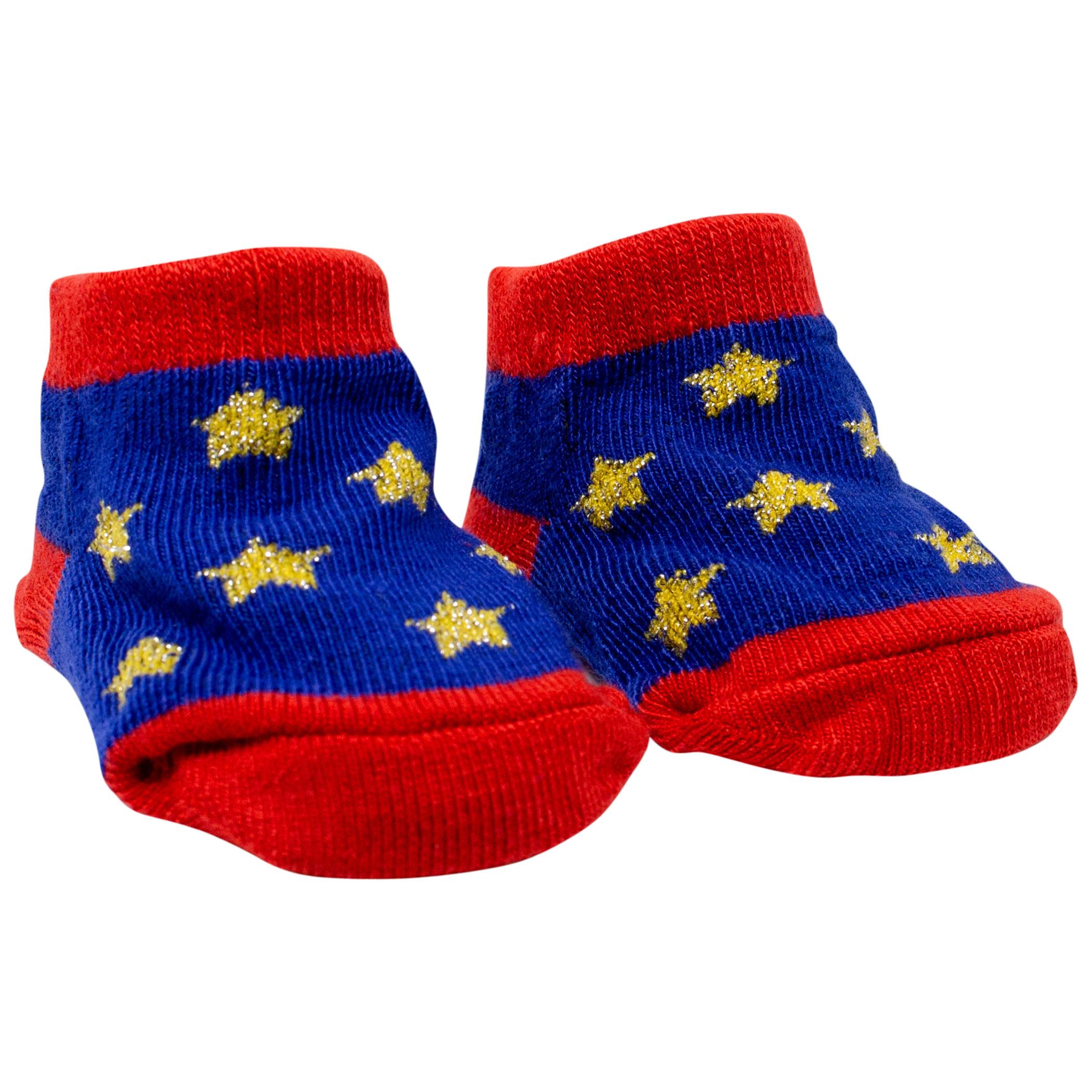Wonder Woman 3-Pack Baby Socks