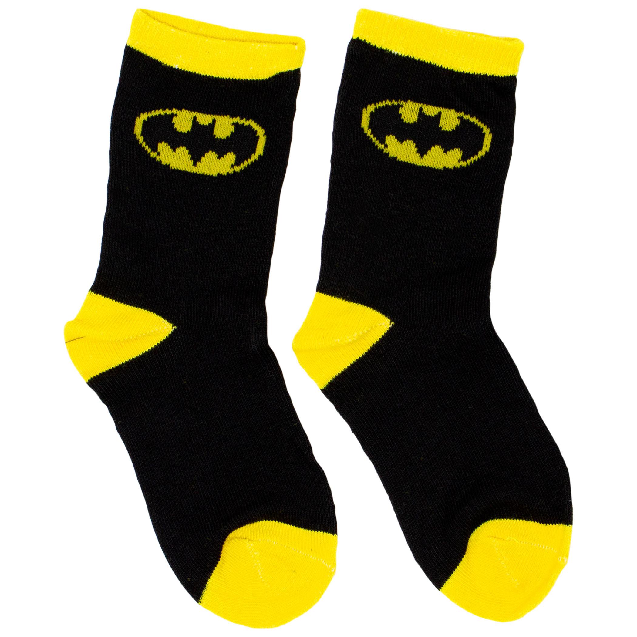 Batman 6-Pack Toddler Socks