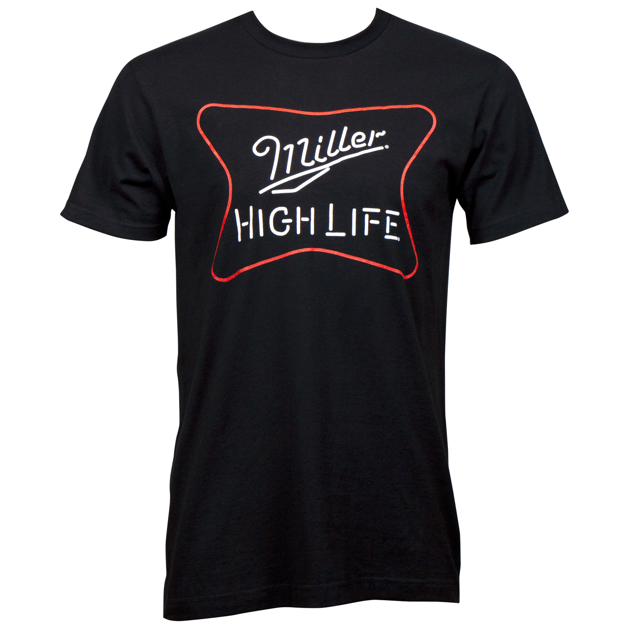 Miller High Life Neon Sign T-Shirt
