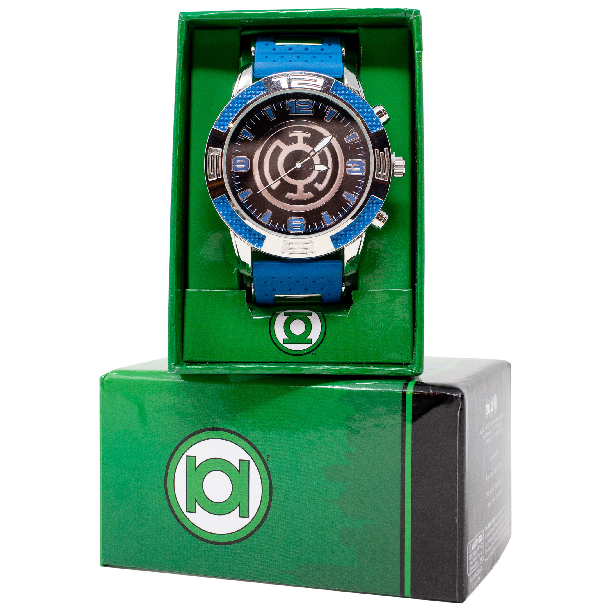 Blue Lantern Hope Symbol Watch with Rubber Band