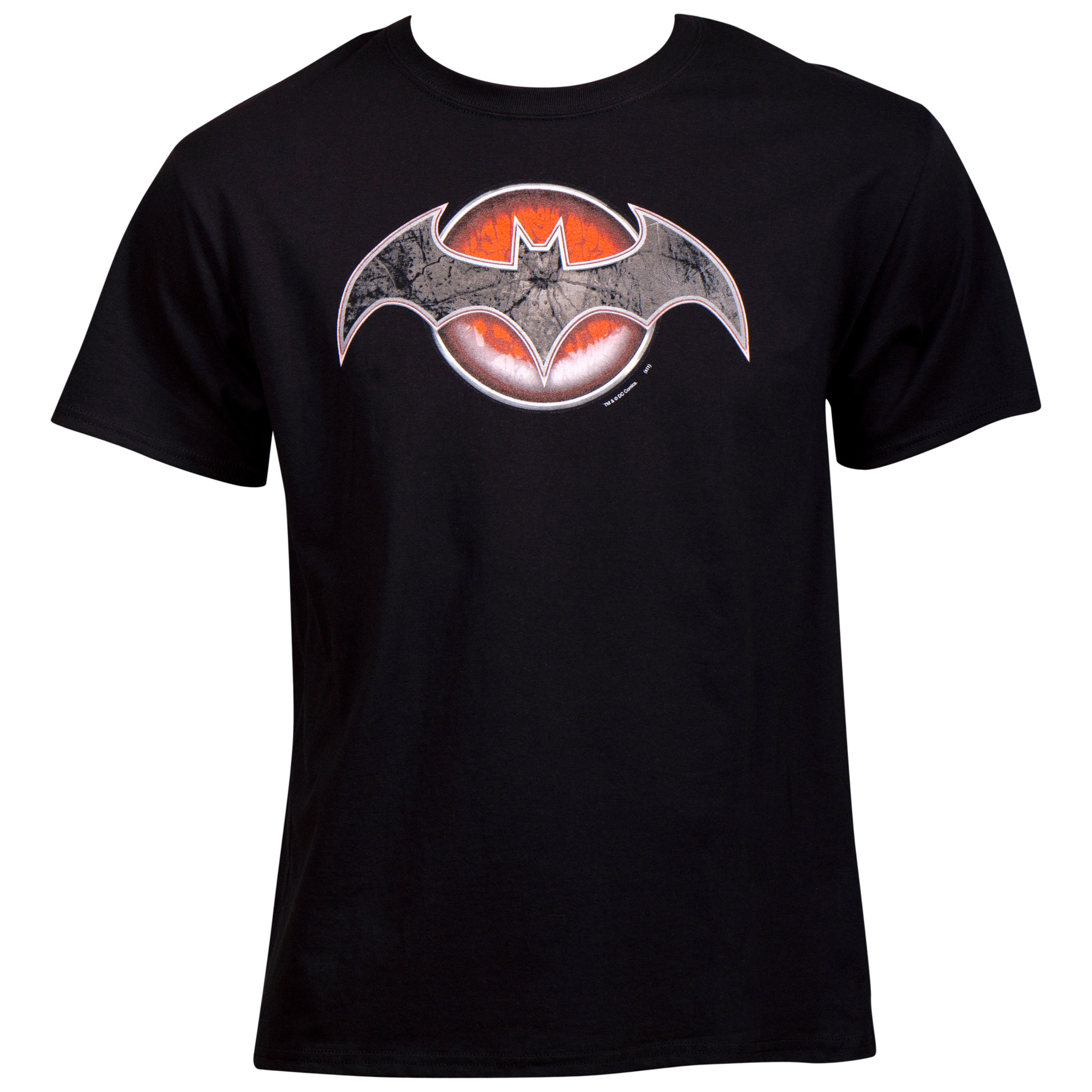 Flashpoint Comic Batman as Thomas Wayne Symbol T-Shirt