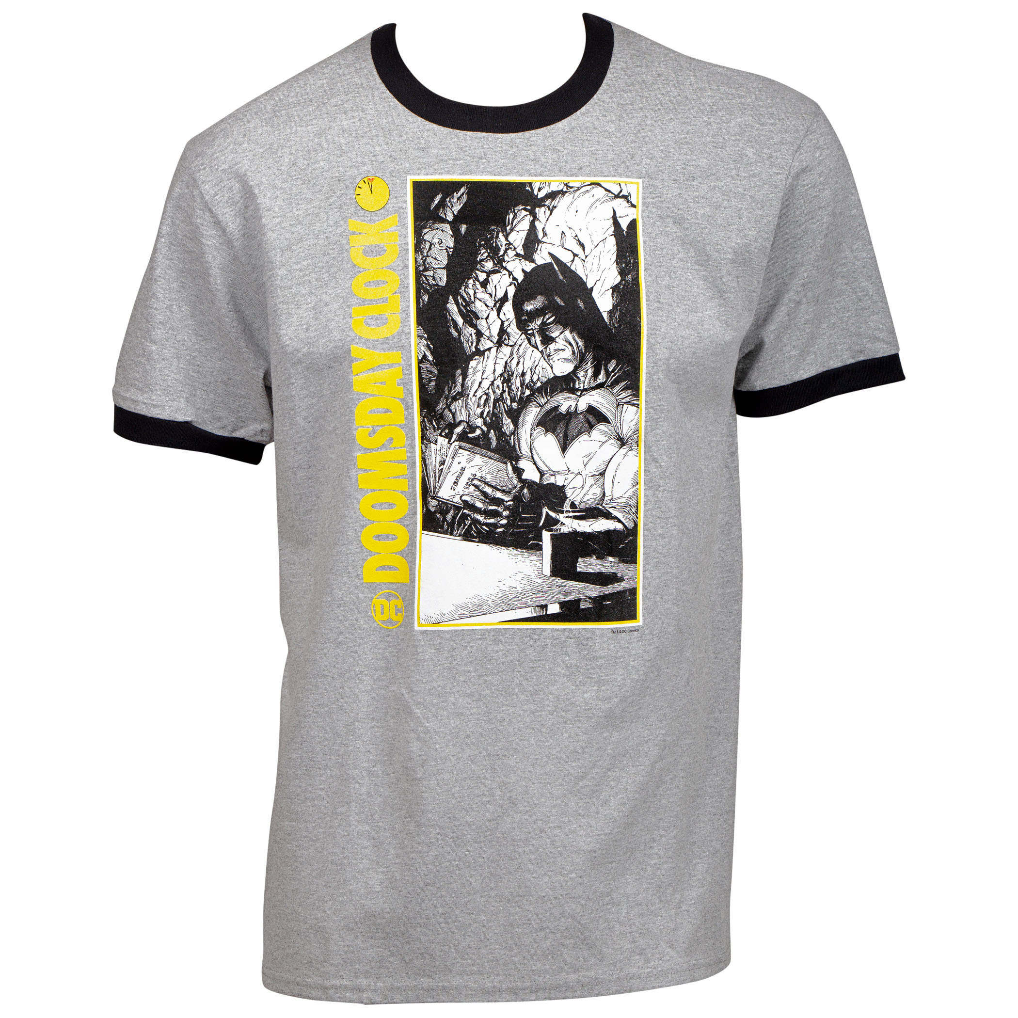 Doomsday Clock Batman Ringer T-Shirt