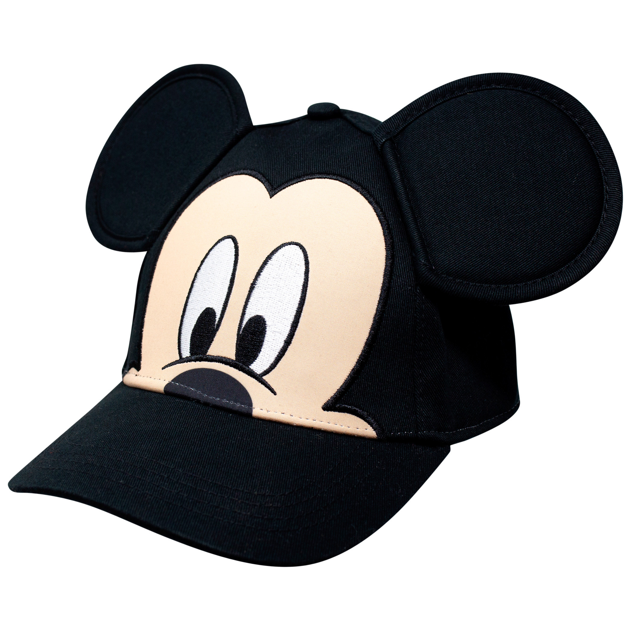 Mickey Mouse Face and Ears Youth Sized Adjustable Hat