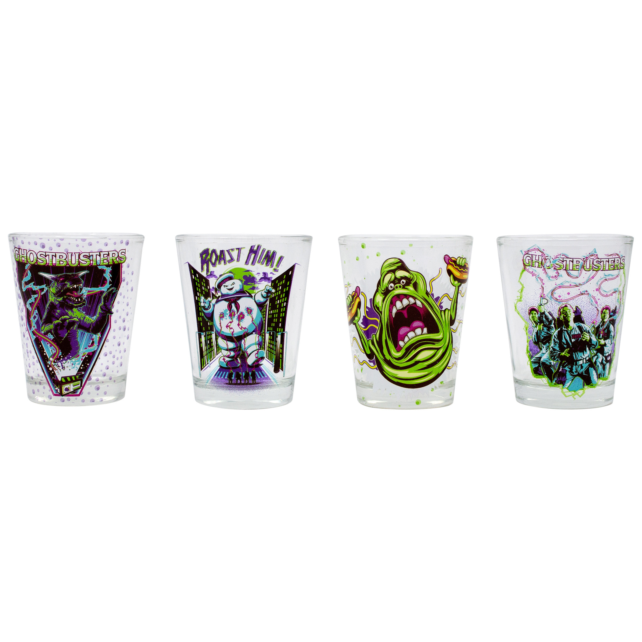 Ghostbusters 4-Pack Shot Glass Set