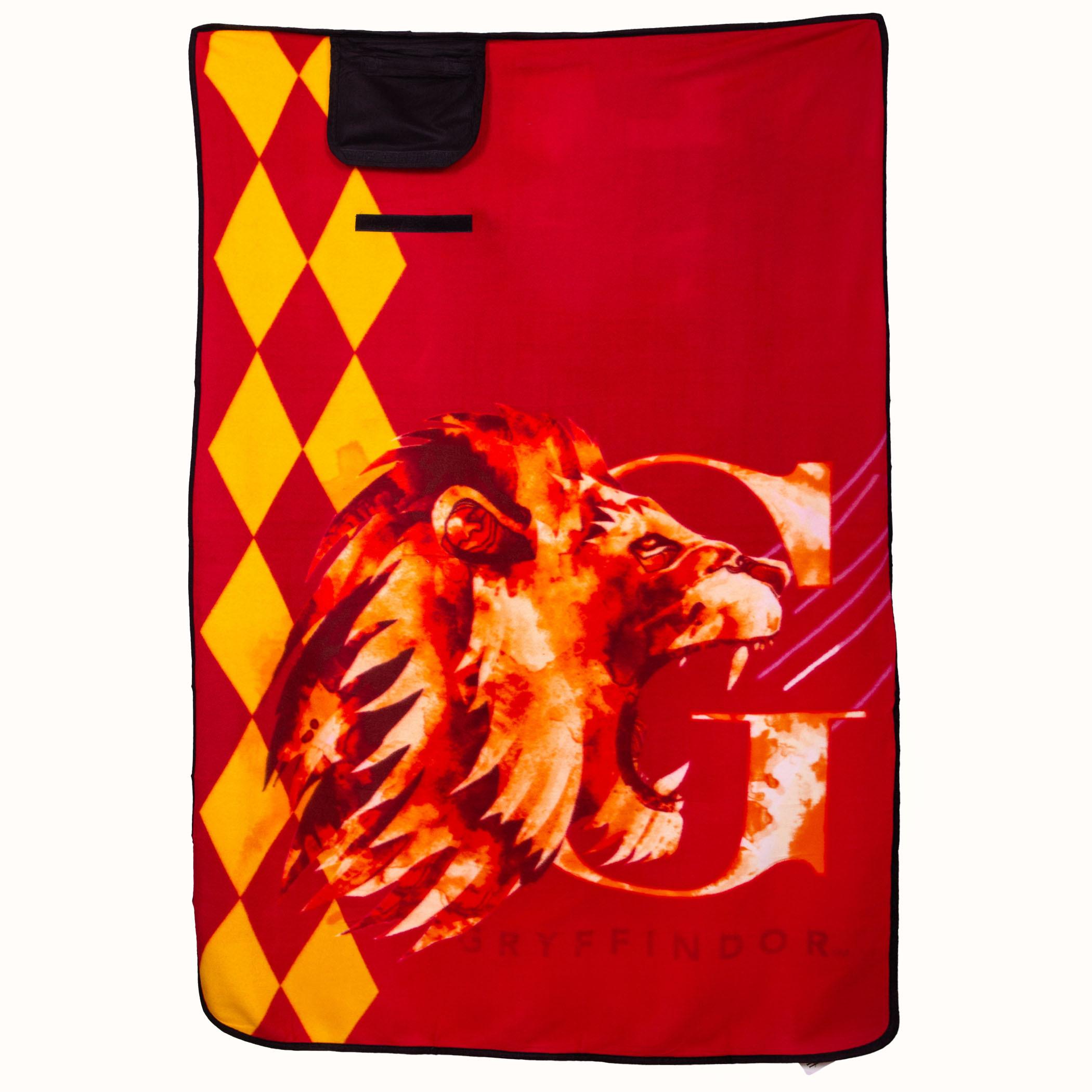 """Harry Potter Gryffindor 43"""" x 59"""" Travel Blanket"""