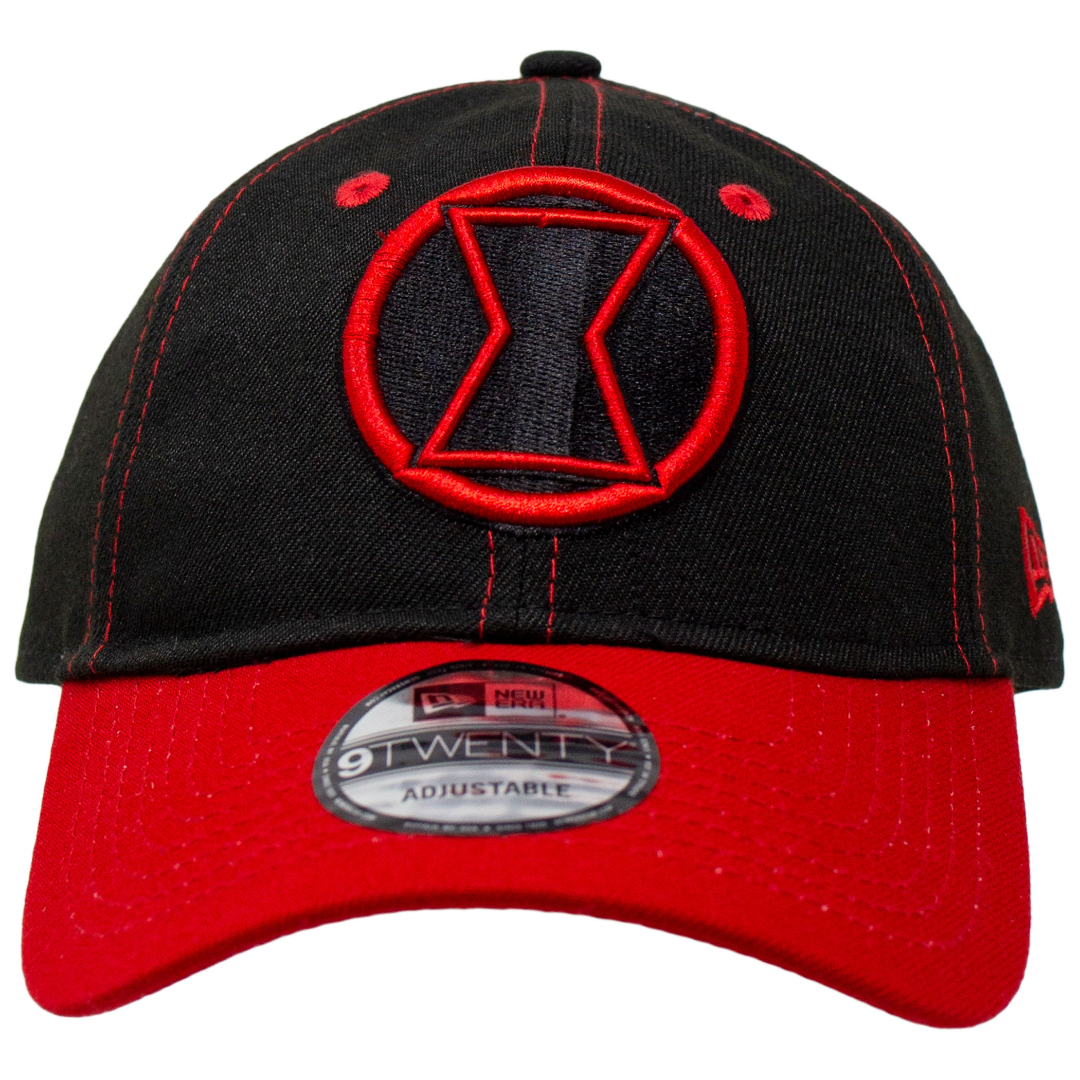 Black Widow Movie Logo With Title Text New Era 9Twenty Adjustable Hat