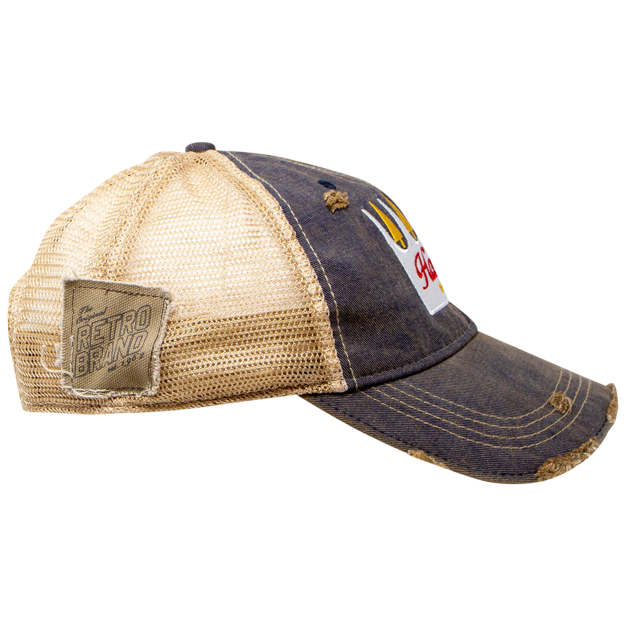 Hamm's Beer Weathered Adjustable Mesh Trucker Hat