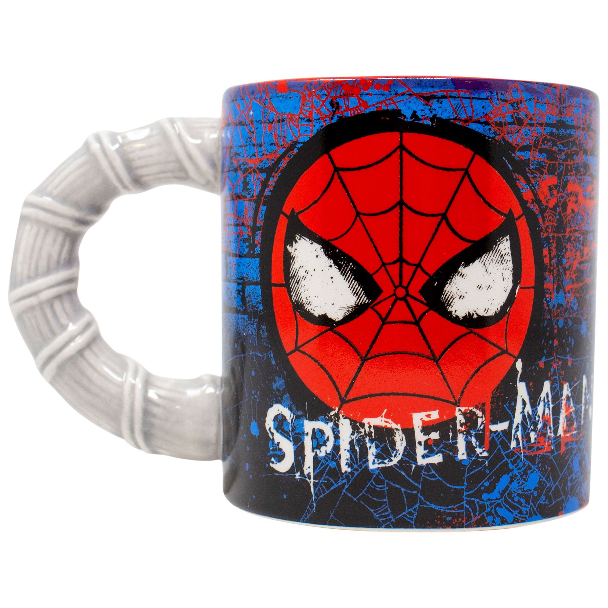 Spider-Man Sculpted Handle 20 Ounce Mug