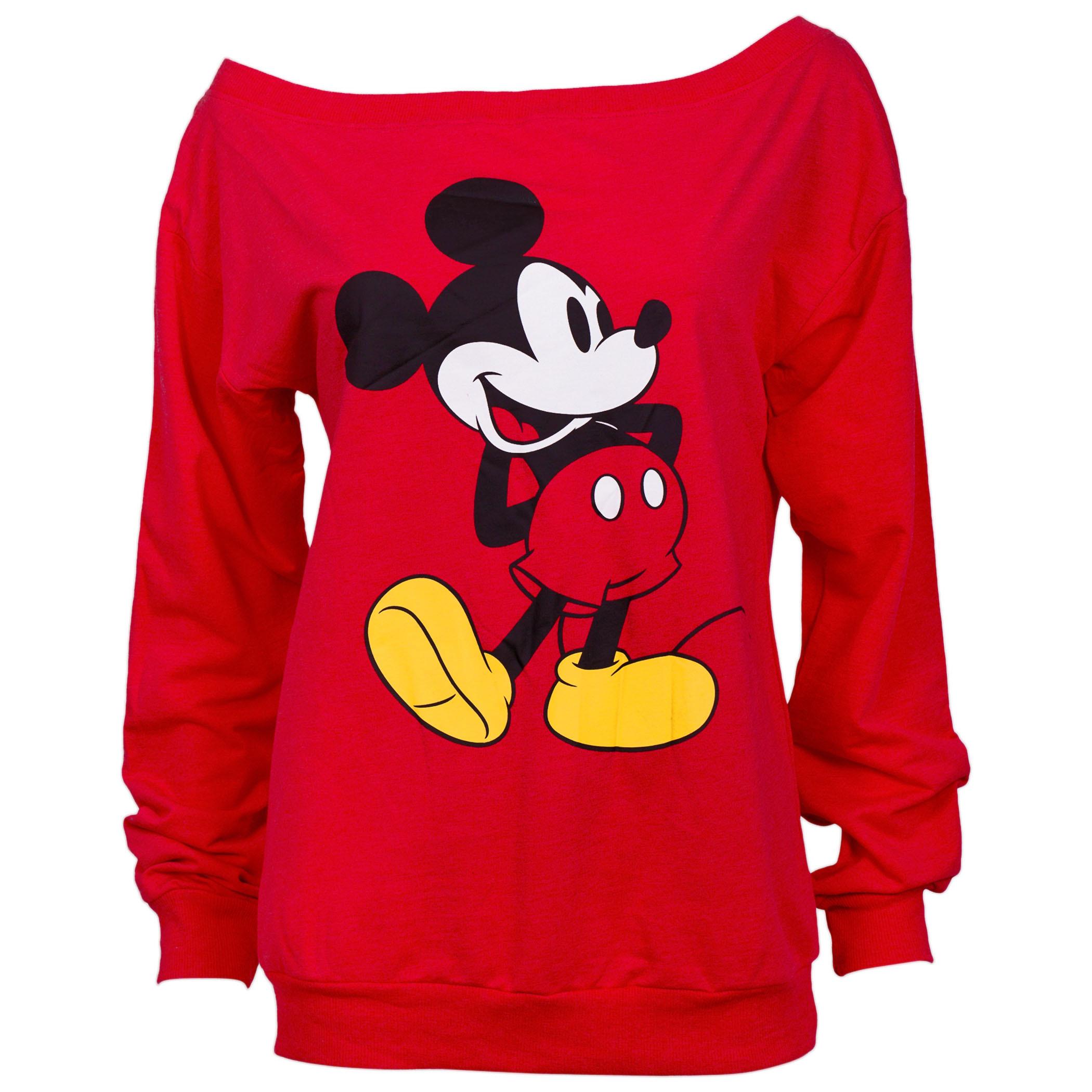 Disney Mickey Mouse Slouched Women's Sweatshirt