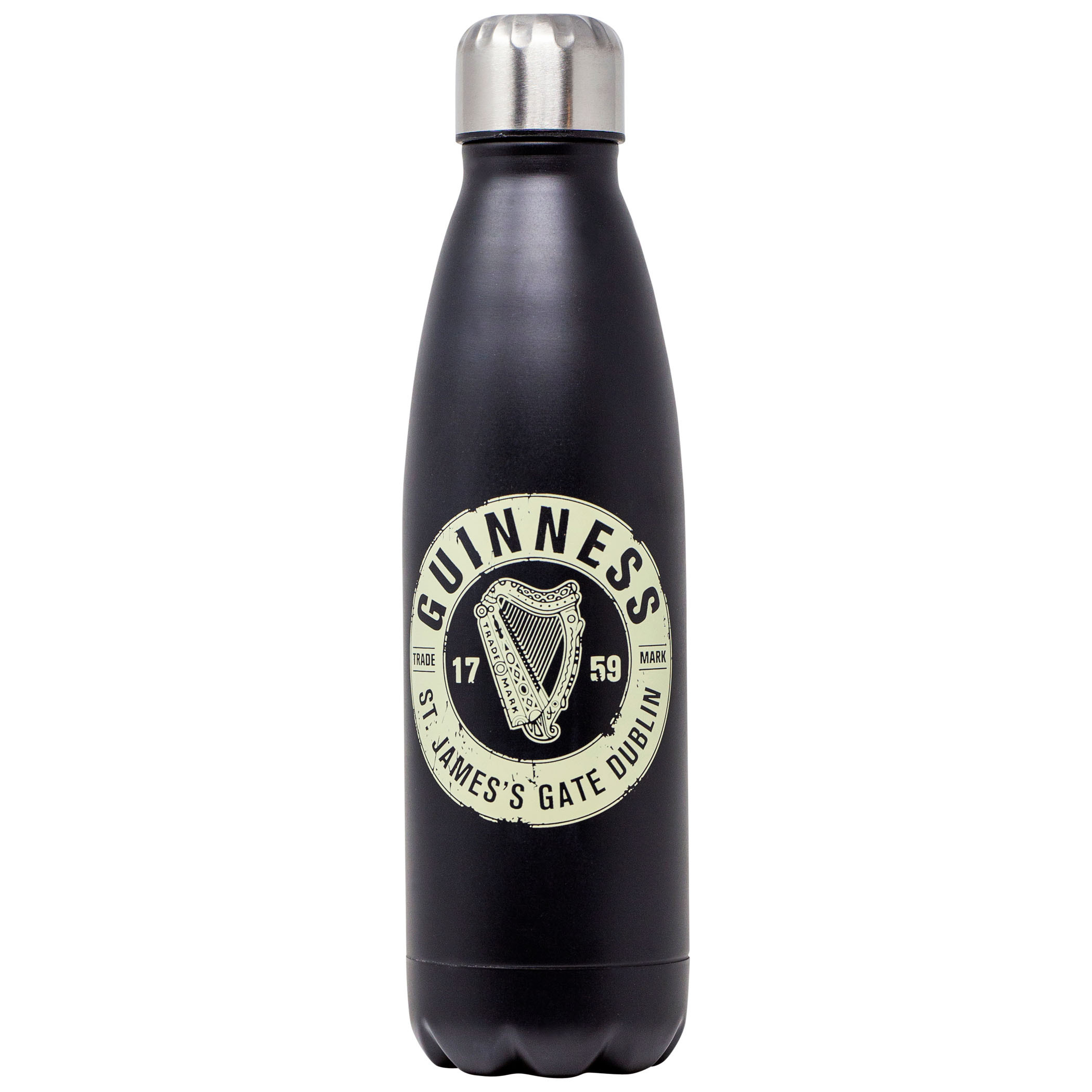 Guinness 17 Ounce Stainless Steel Water Bottle