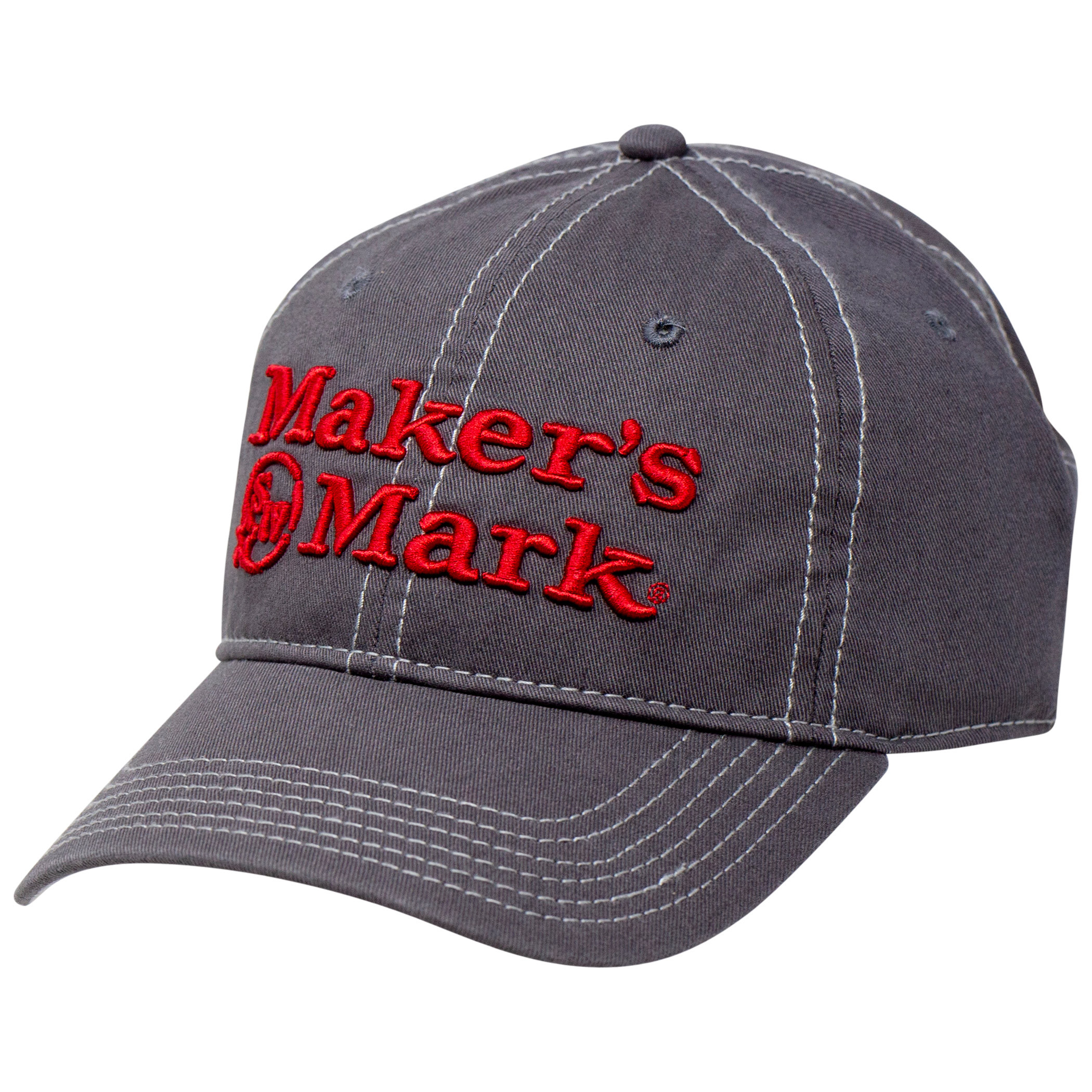 Maker's Mark Embroidered Logo Twill Hat