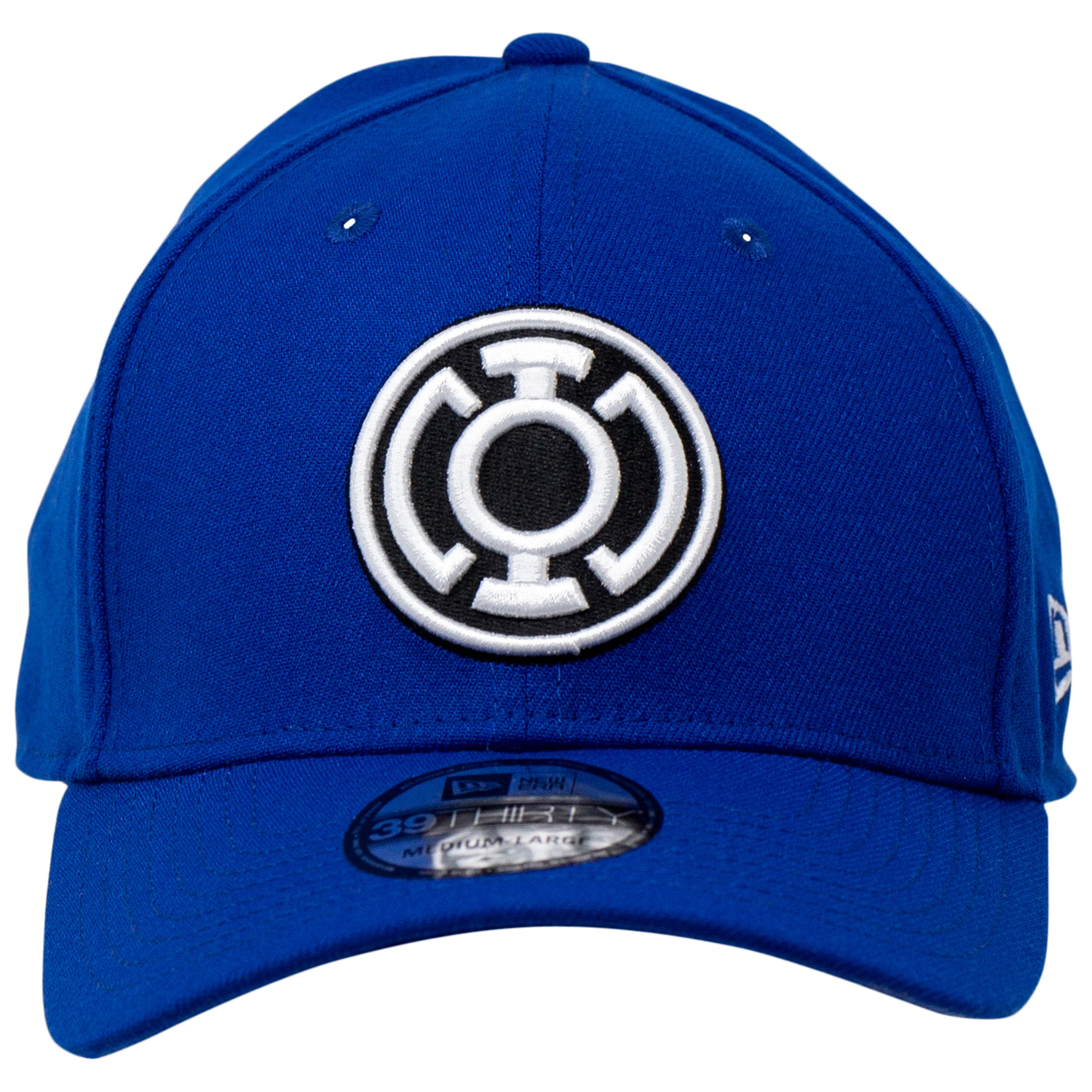 Blue Lantern Color Block New Era 39Thirty Fitted Hat