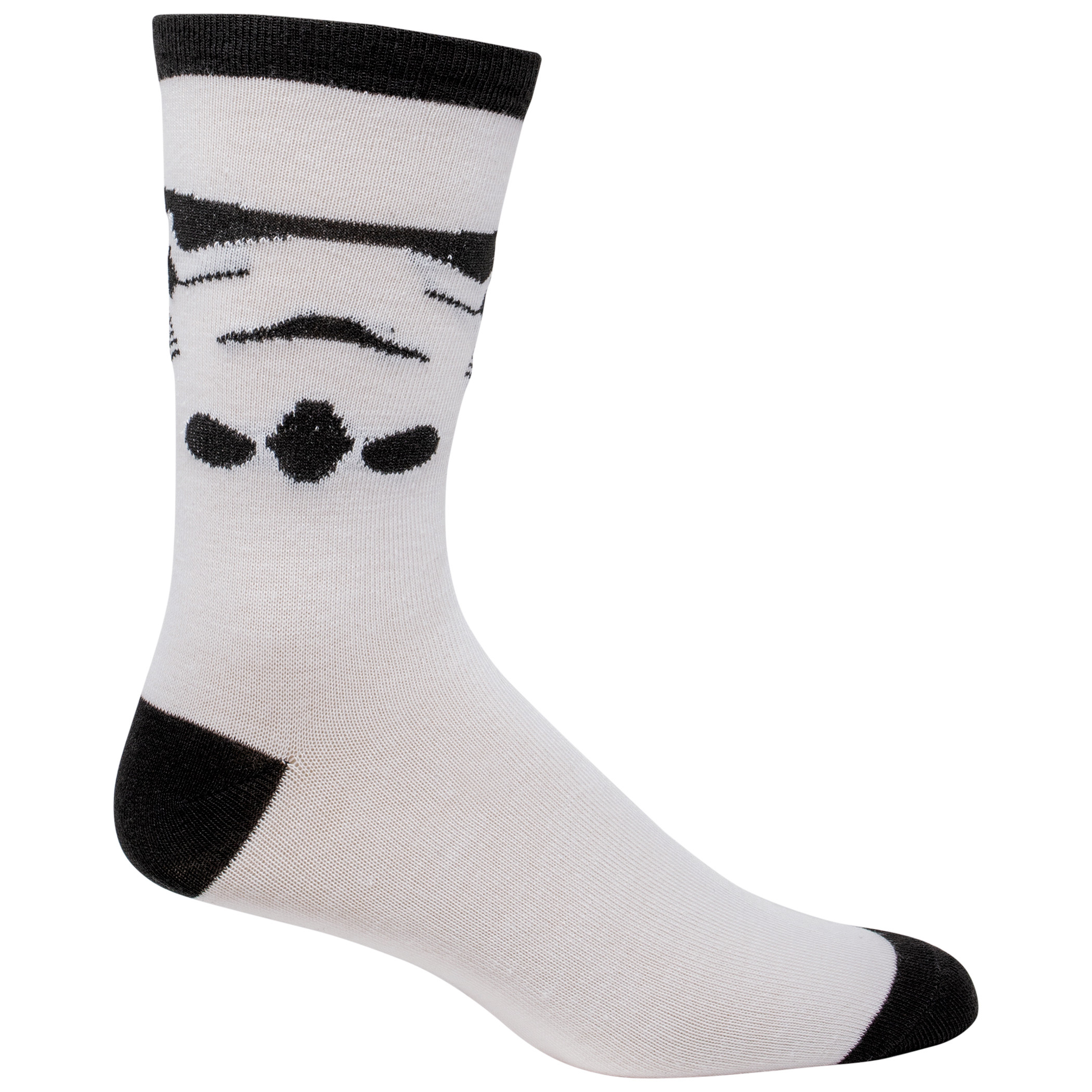 Star Wars Stormtrooper Costume Character Crew Socks