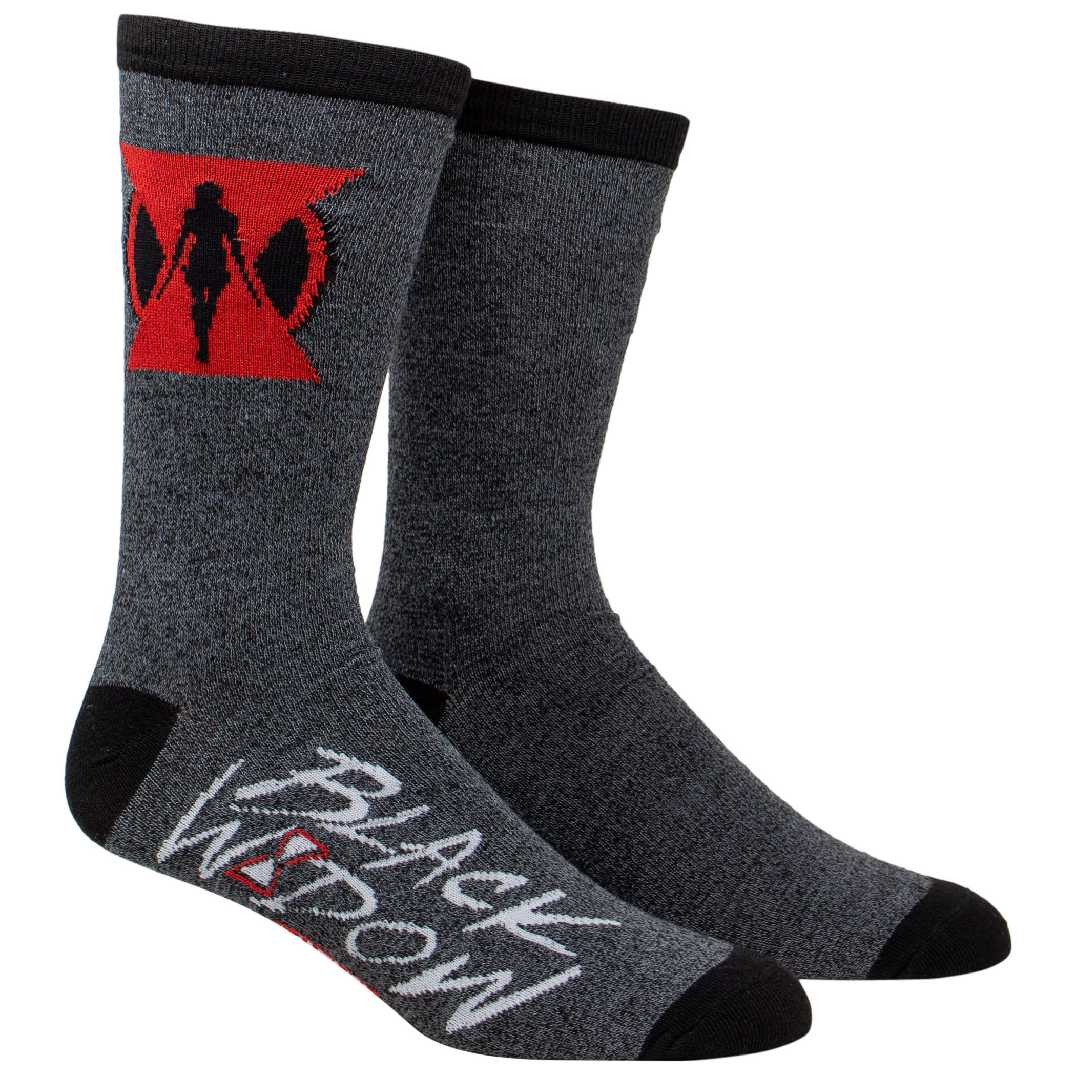 Black Widow Movie Symbol Crew Socks