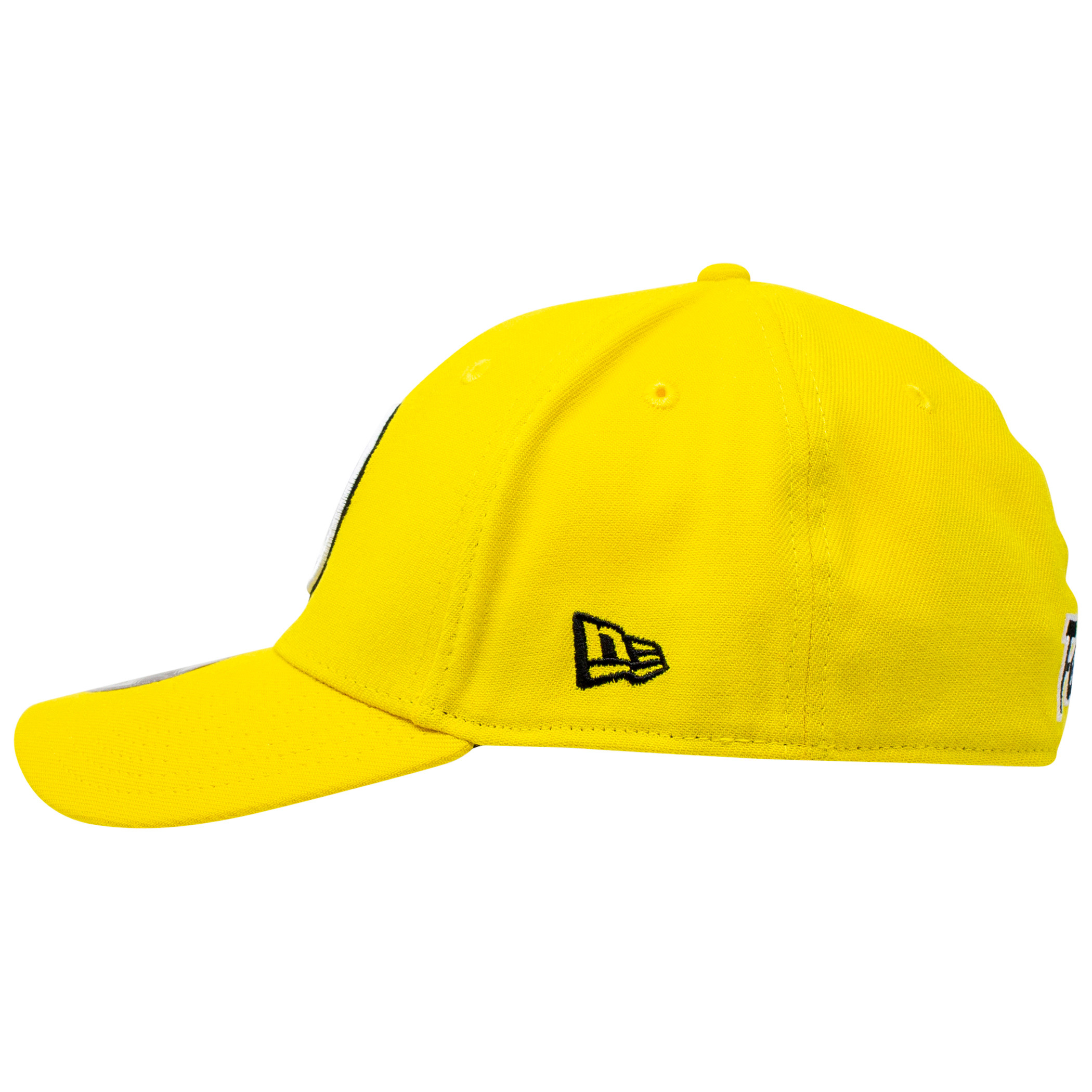 Yellow Lantern Sinestro Corp Color Block New Era 39Thirty Fitted Hat