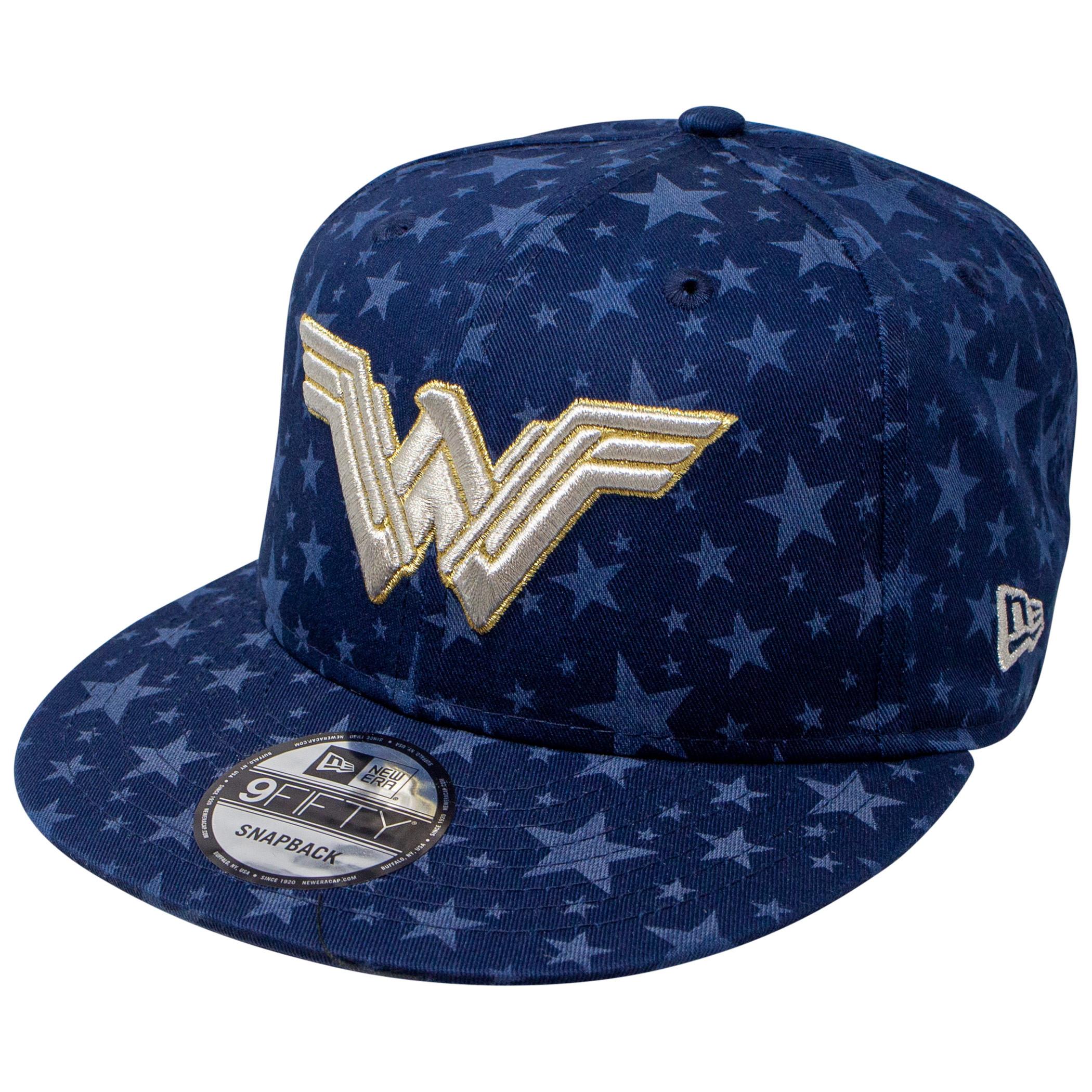 Wonder Woman Laser Etch Symbols 9Fifty Adjustable New Era Hat