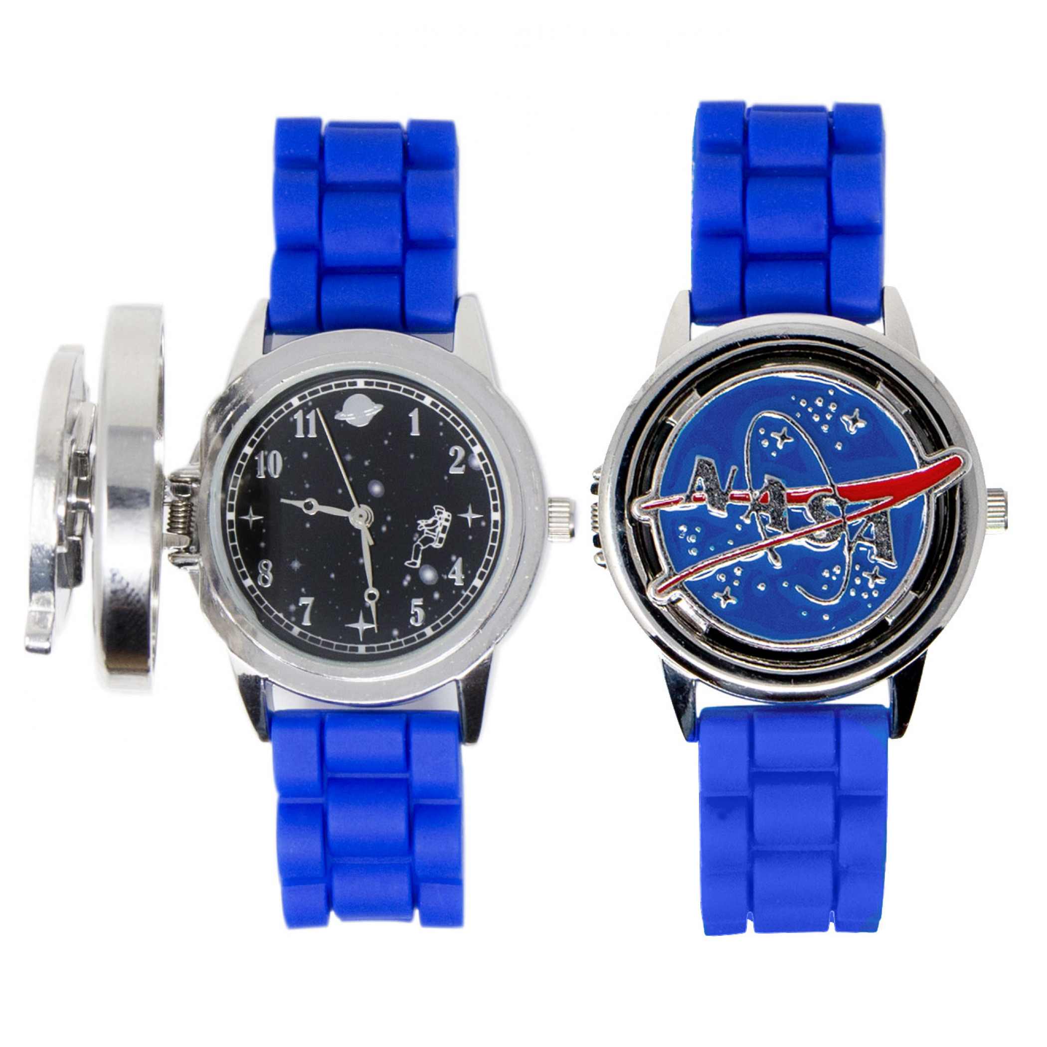 NASA Logo with Space Themed Dial Watch