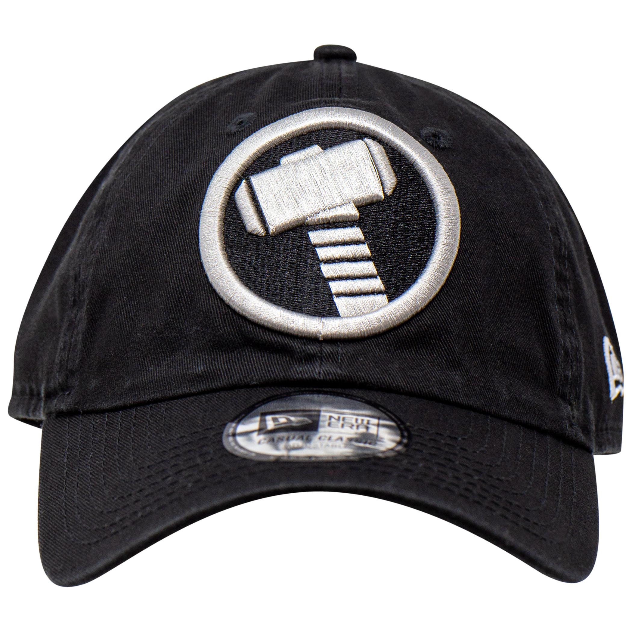 Thor Hammer Symbol New Era Casual Classic Adjustable Dad Hat
