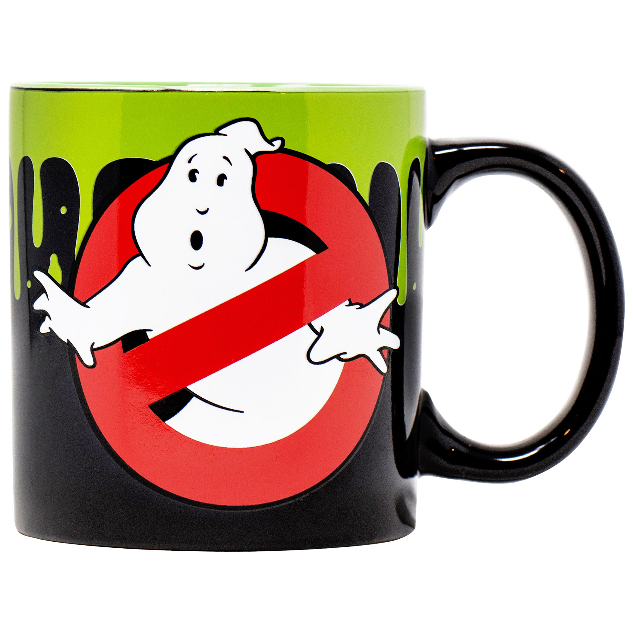 Ghostbusters Who Ya Gonna Call? Slime 20 Ounce Mug