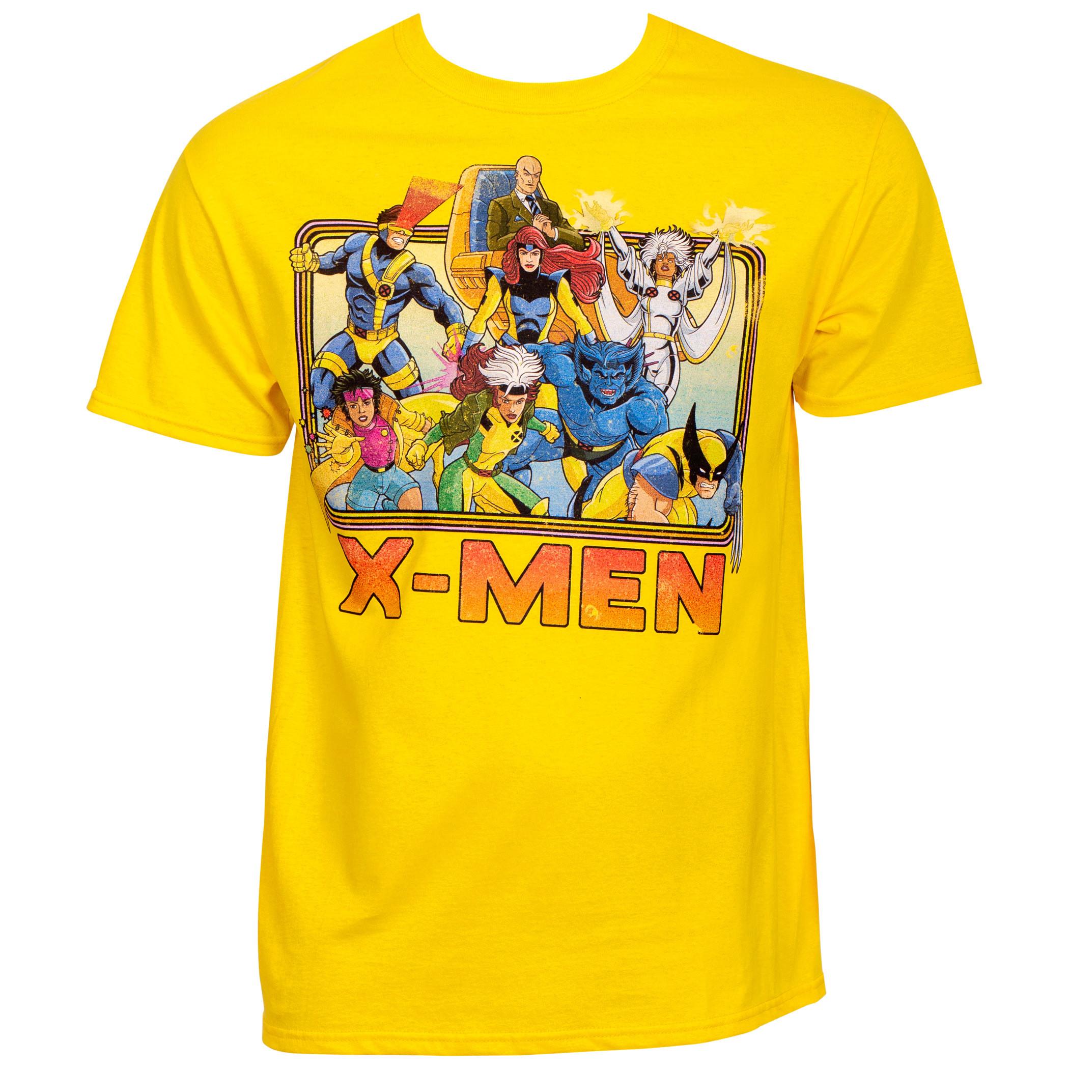Marvel X-Men 90's Cartoon Lineup T-Shirt