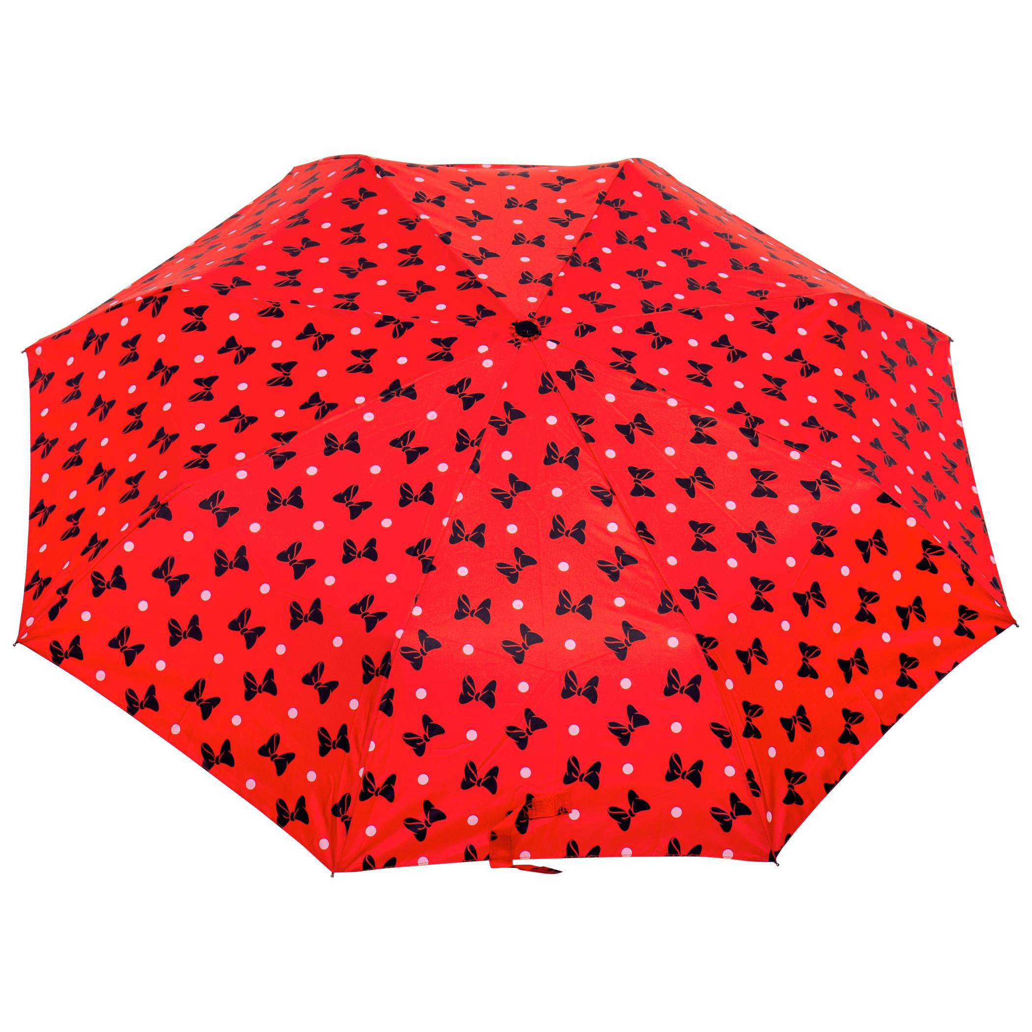 Disney Minnie Mouse Black Bow Umbrella