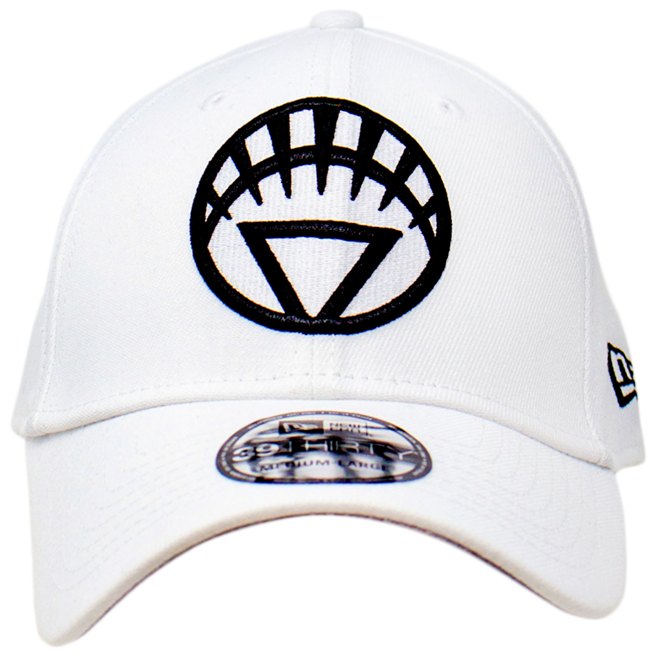 White Lantern Color Block New Era 39Thirty Fitted Hat