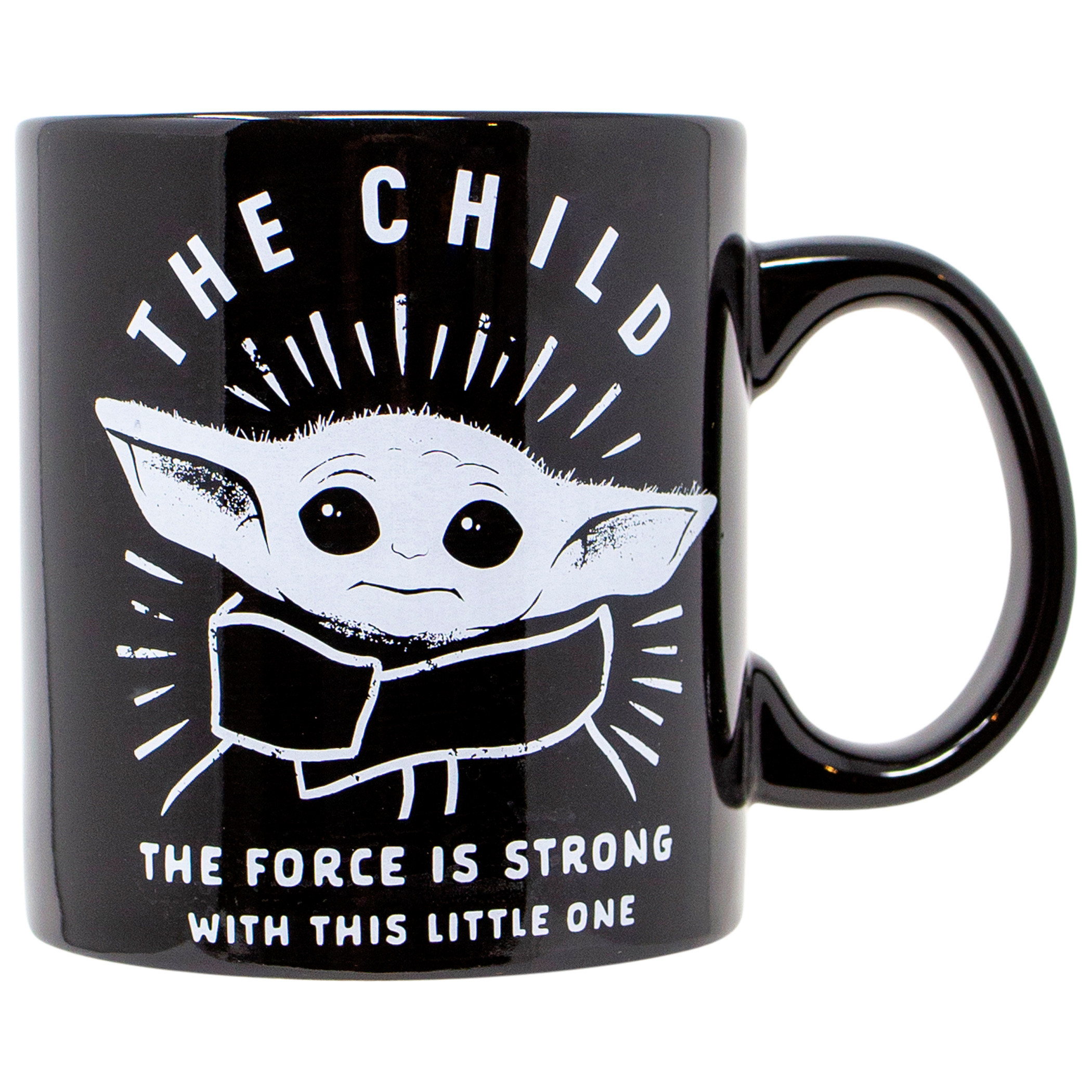 The Mandalorian The Child The Force is Strong 20 Ounce Mug