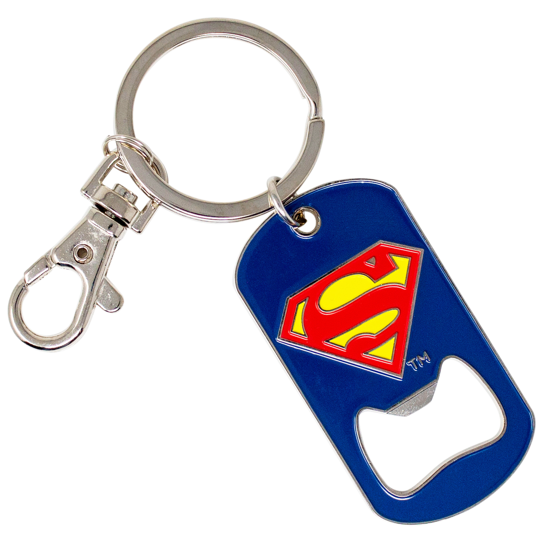 Superman Symbol Bottle Opener Keychain