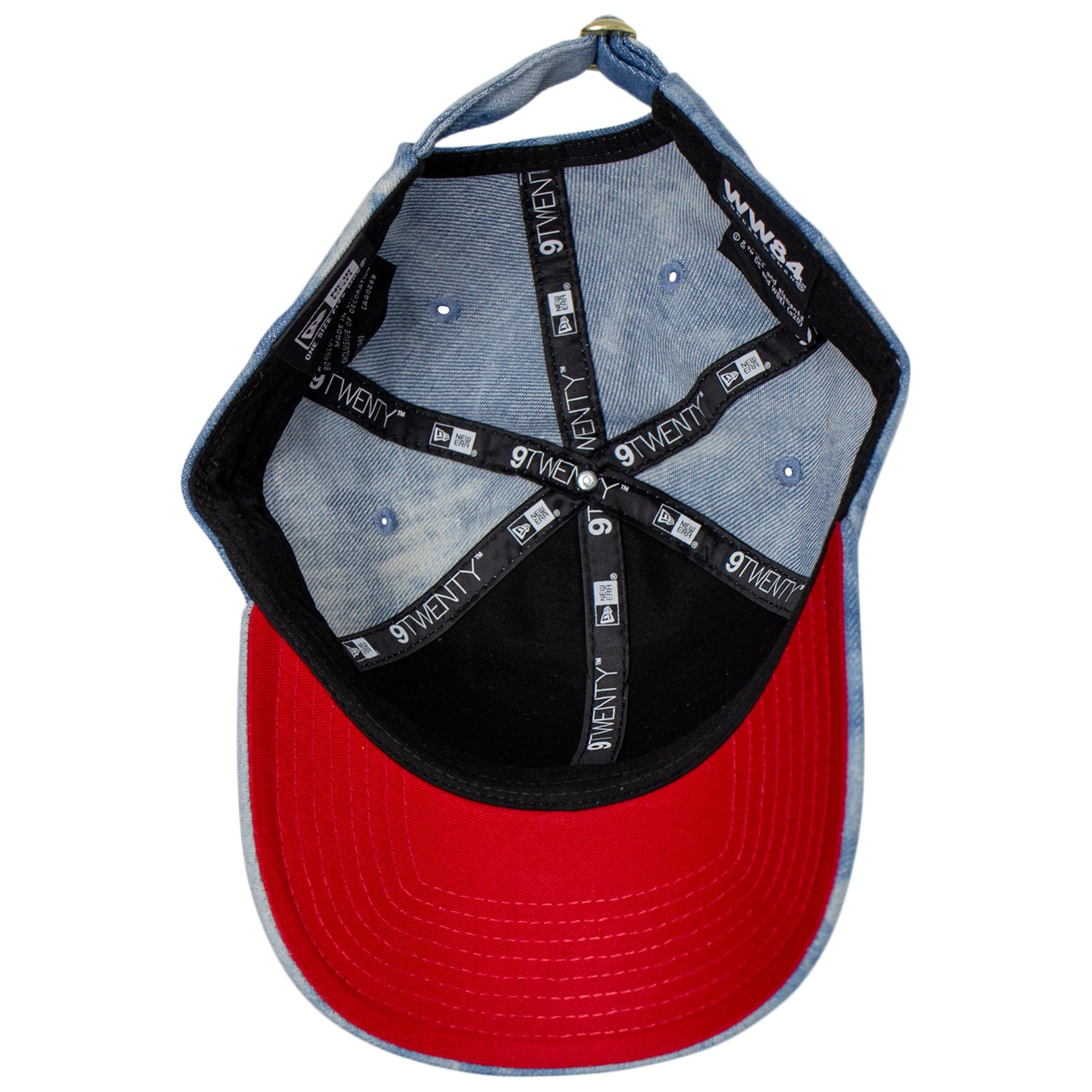 Wonder Woman 1984 Movie Logo Denim 9Twenty Adjustable New Era Hat
