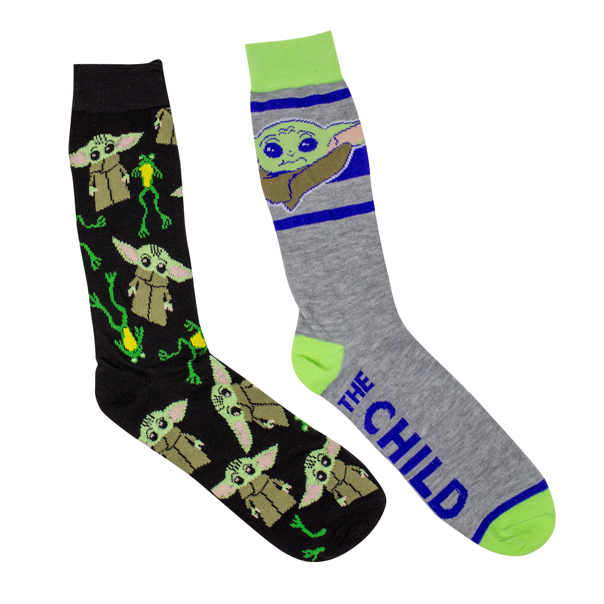 Star Wars The Mandalorian The Child 2-Pack Casual Crew Socks