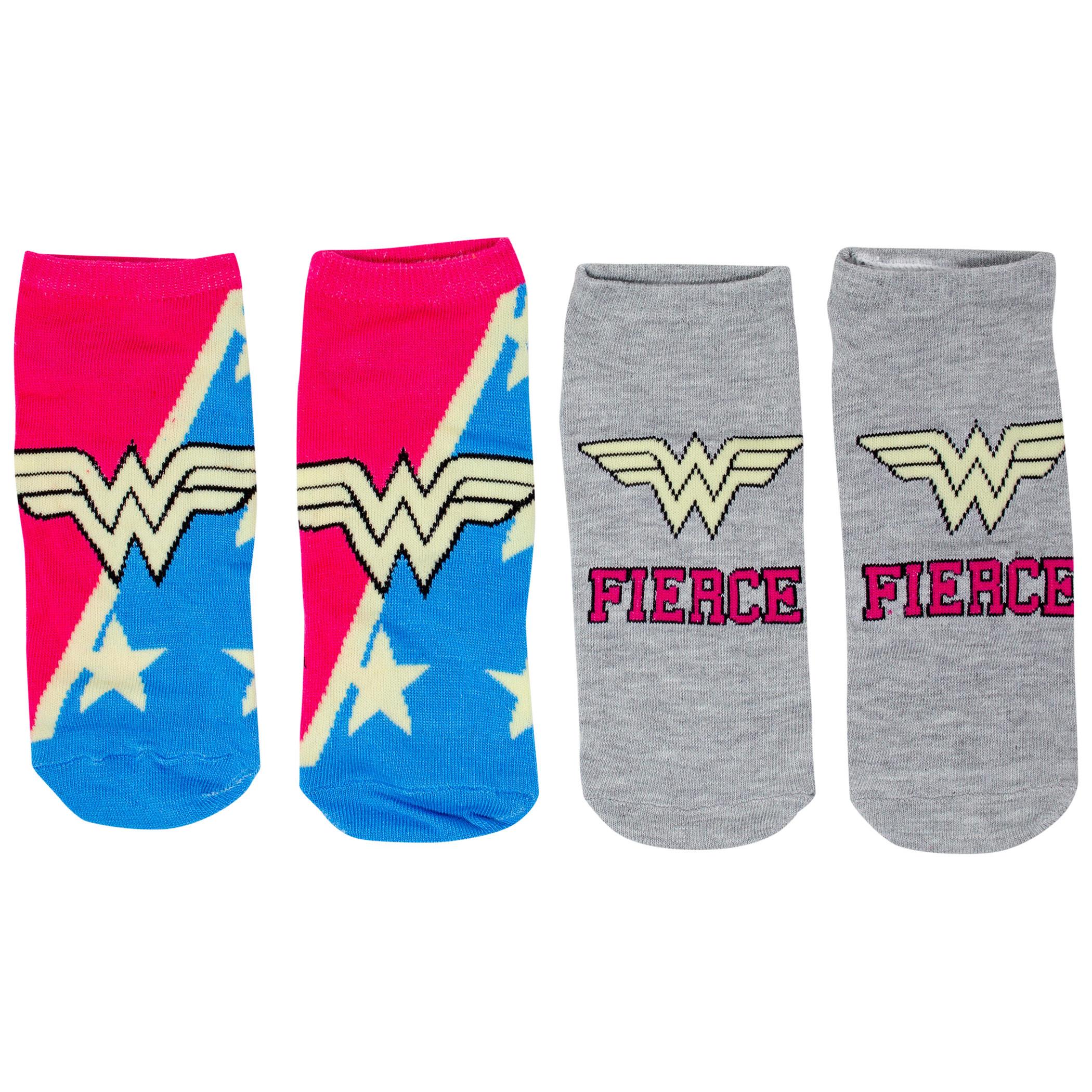 Wonder Woman Sock of the Week Assorted Women's Shorties Socks 7-Pair Box
